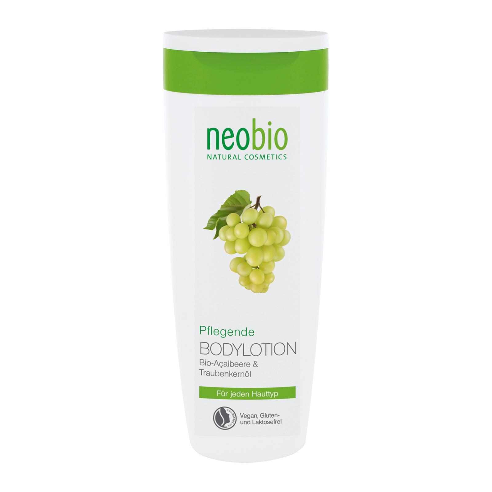 Neobio Pěstící tělové mléko 250 ml