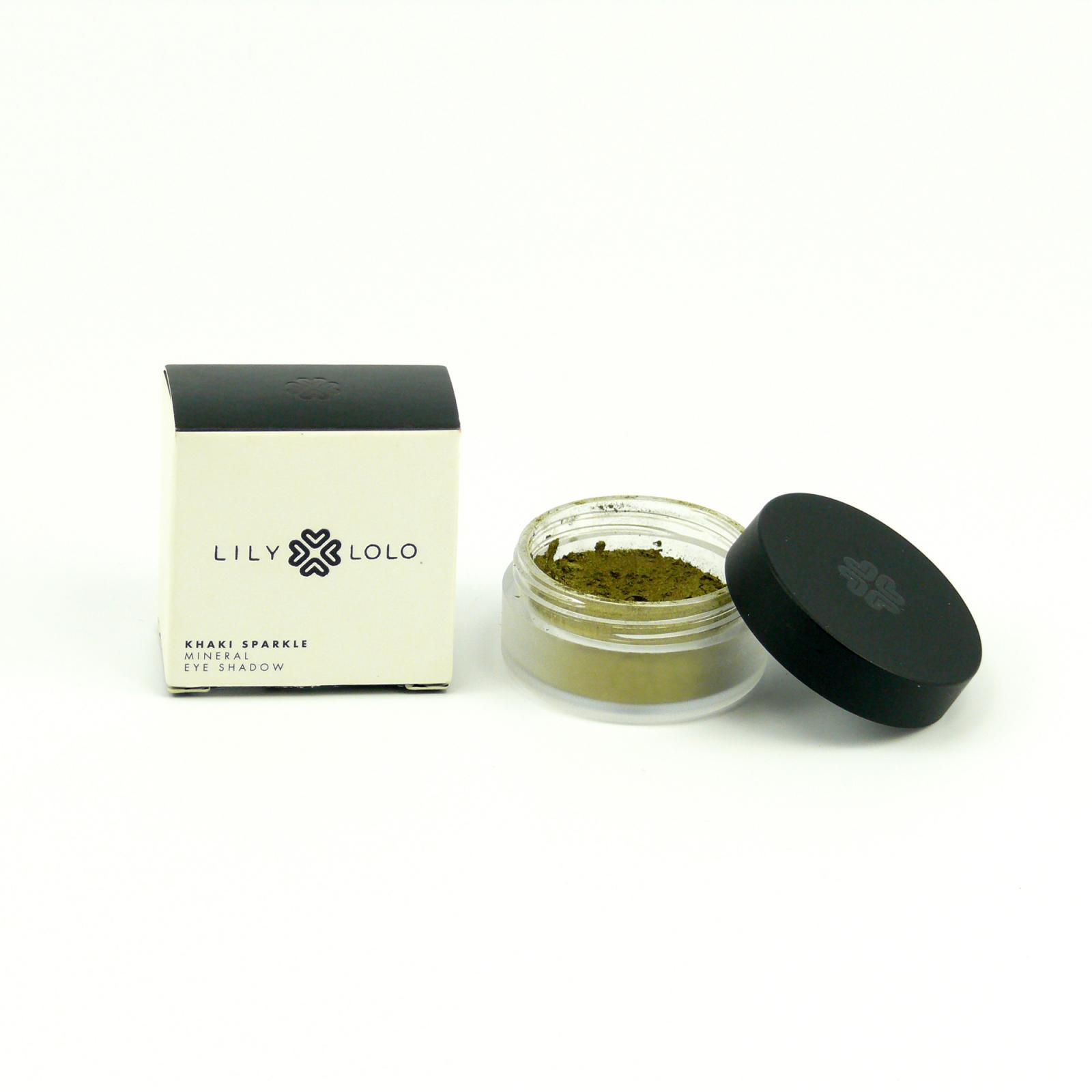 Lily Lolo Mineral Cosmetics Minerální oční stíny Khaki Sparkle 2,5 g