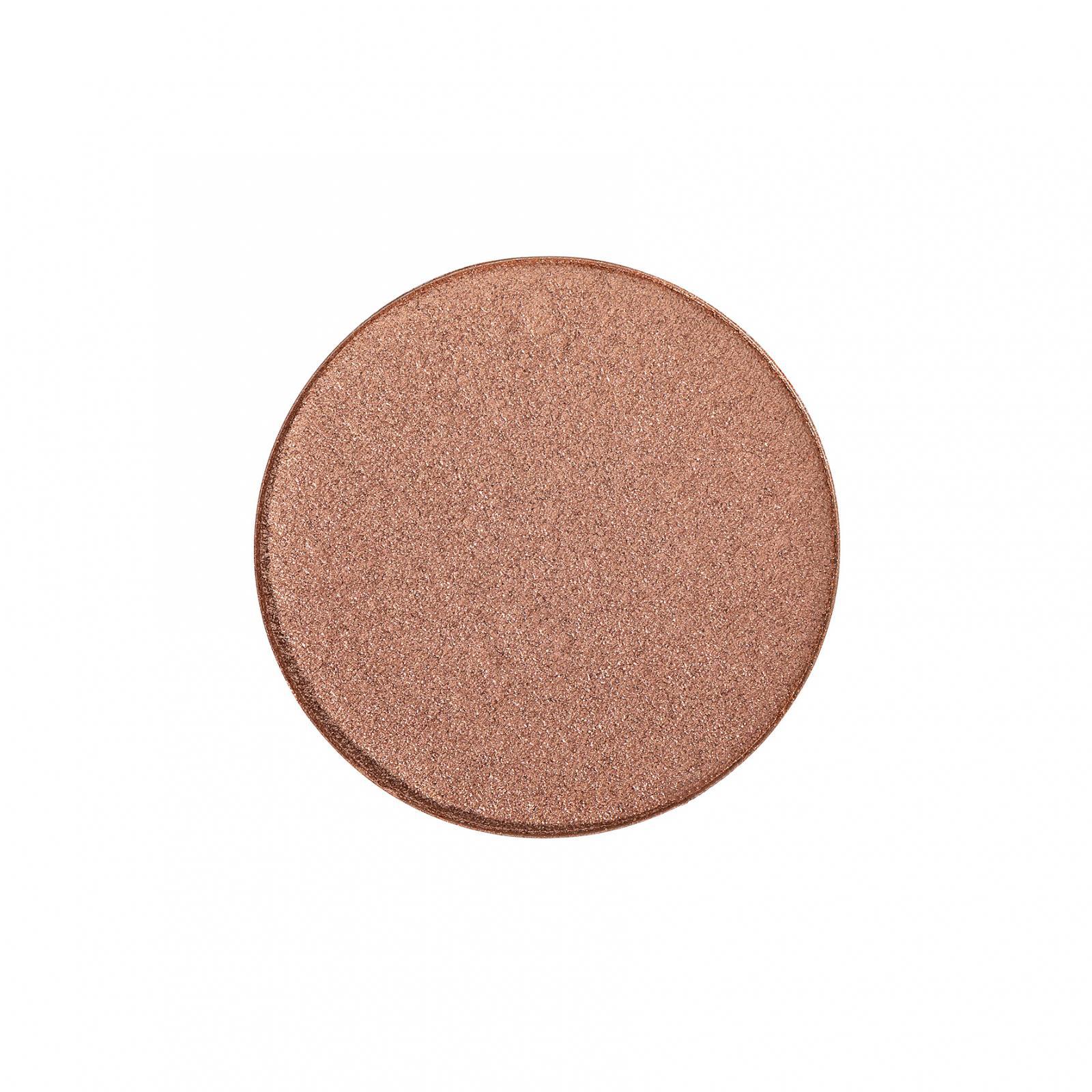 puroBIO cosmetics Kompaktní rozjasňovač 04 Golden Pink 9 g náplň