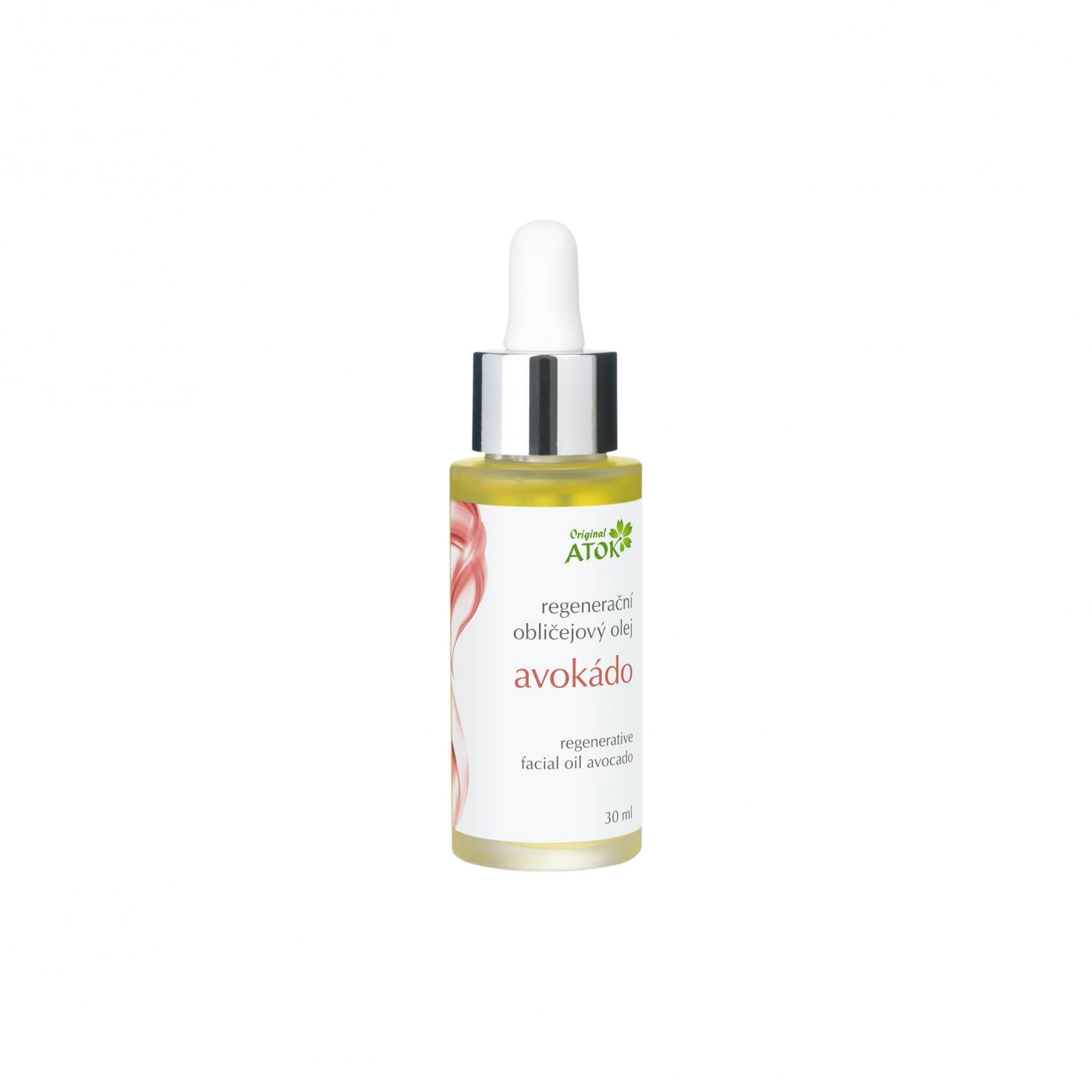 Original ATOK Regenerační obličejový olej Avokádo 30 ml
