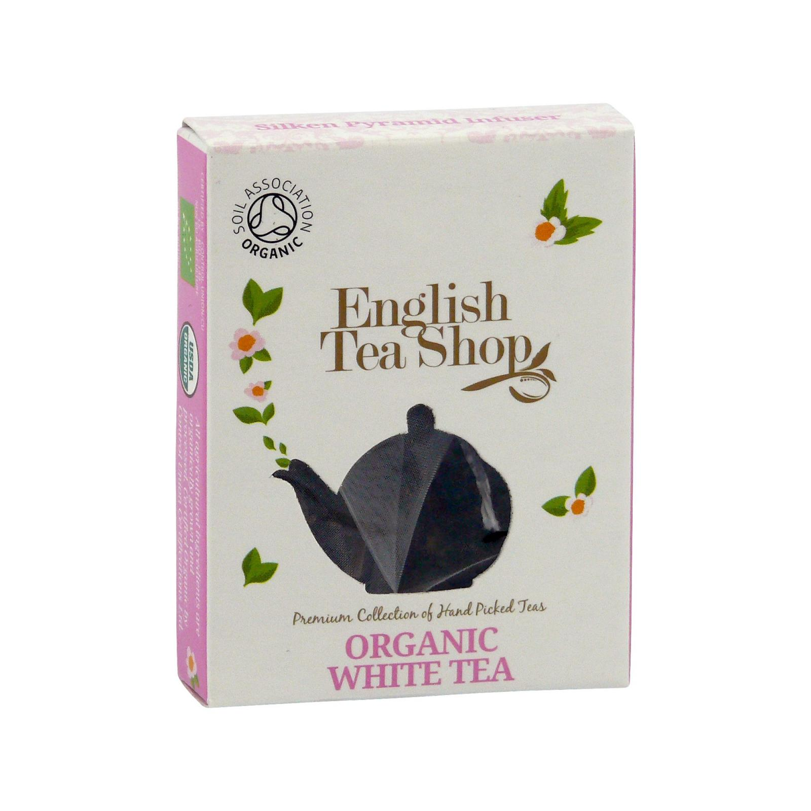 English Tea Shop Bílý čaj 1 ks, 9 g