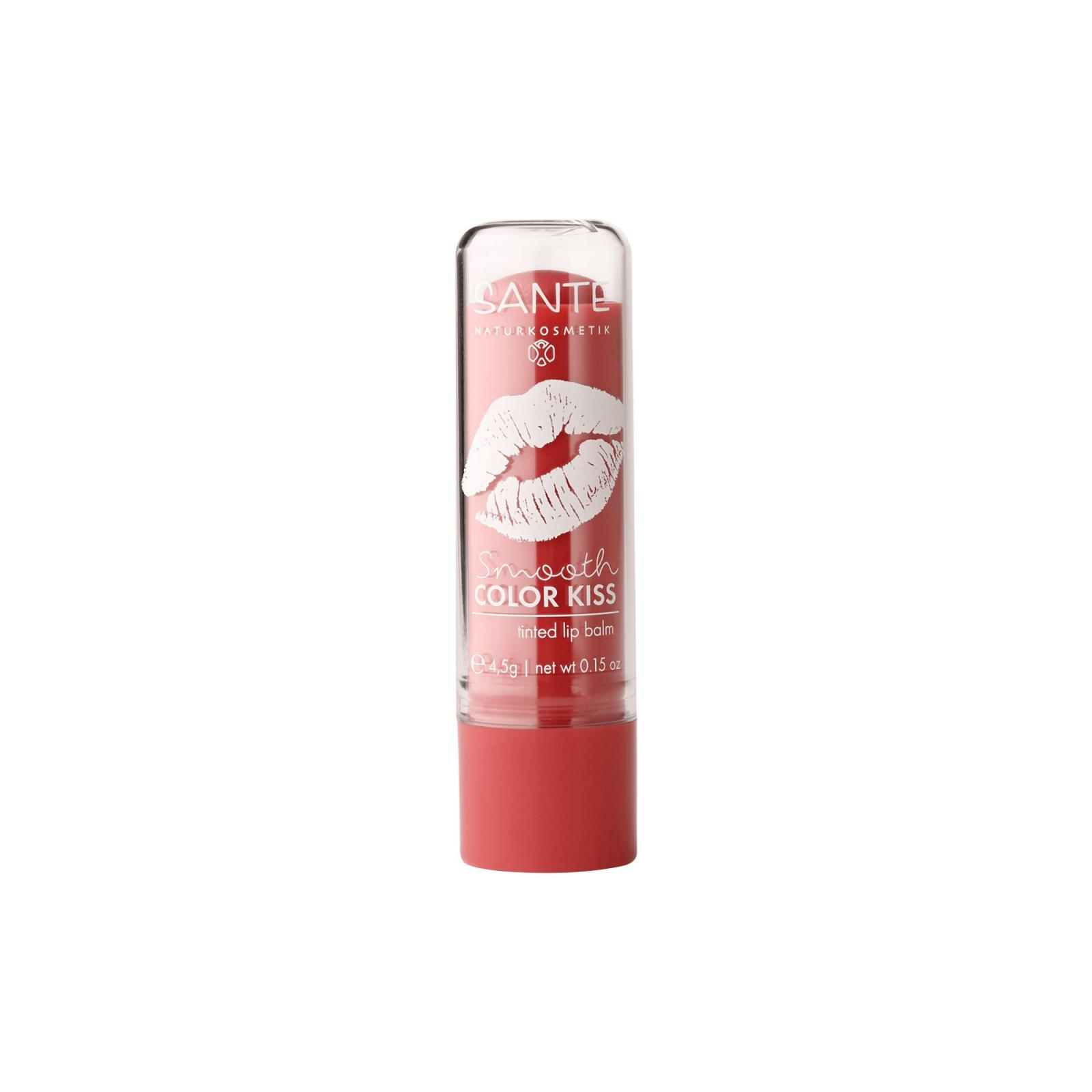 SANTE Tónující balzám na rty, jemně červená 4,5 g