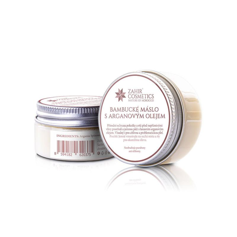 Bambucké máslo s arganovým olejem Zahir