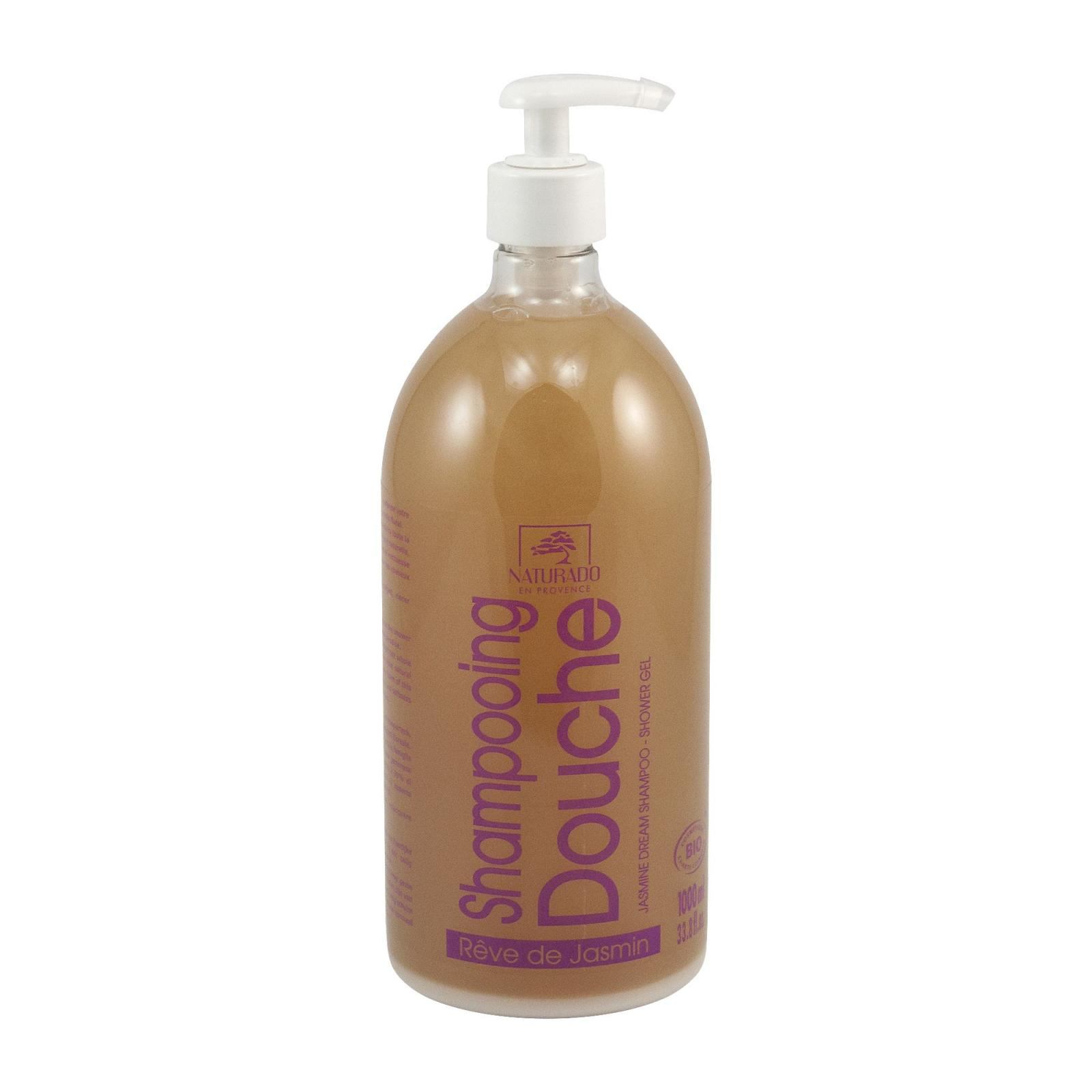 Naturado Sprchový šampon XXL jasmín 1 l