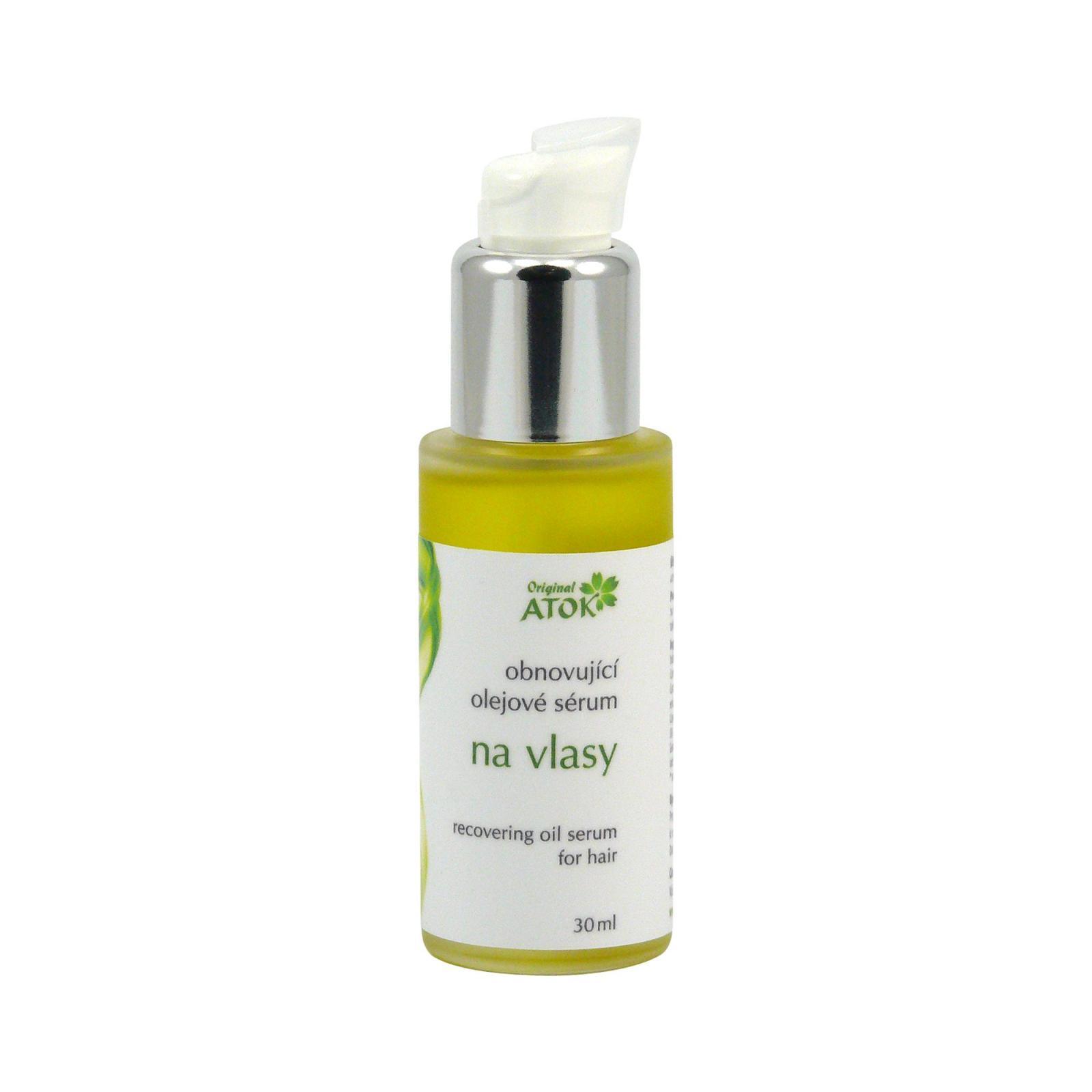 Original ATOK Obnovující olejové sérum na vlasy 30 ml