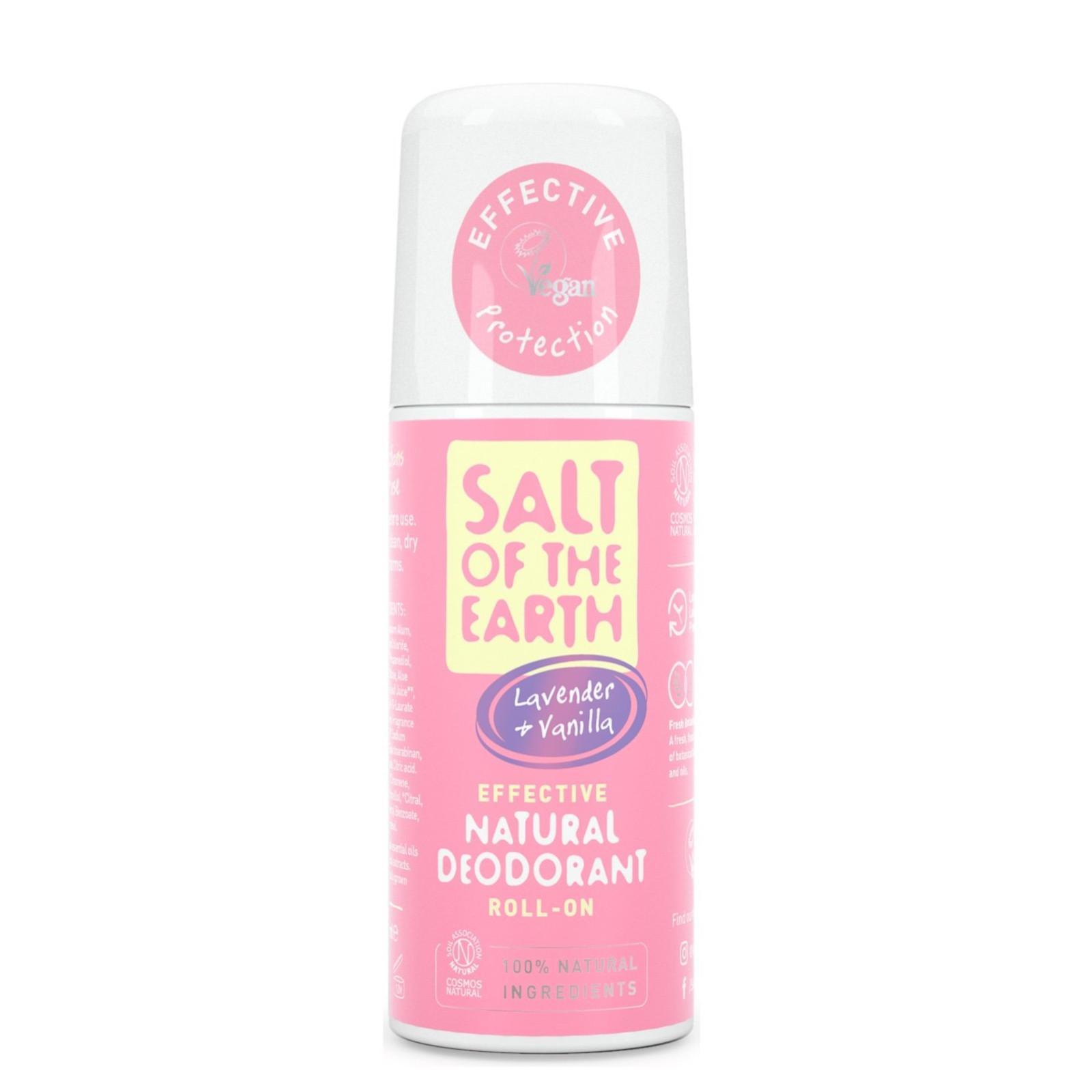 Salt of the Earth Pure Aura Přírodní deodorant roll-on levandule a vanilka 75 ml
