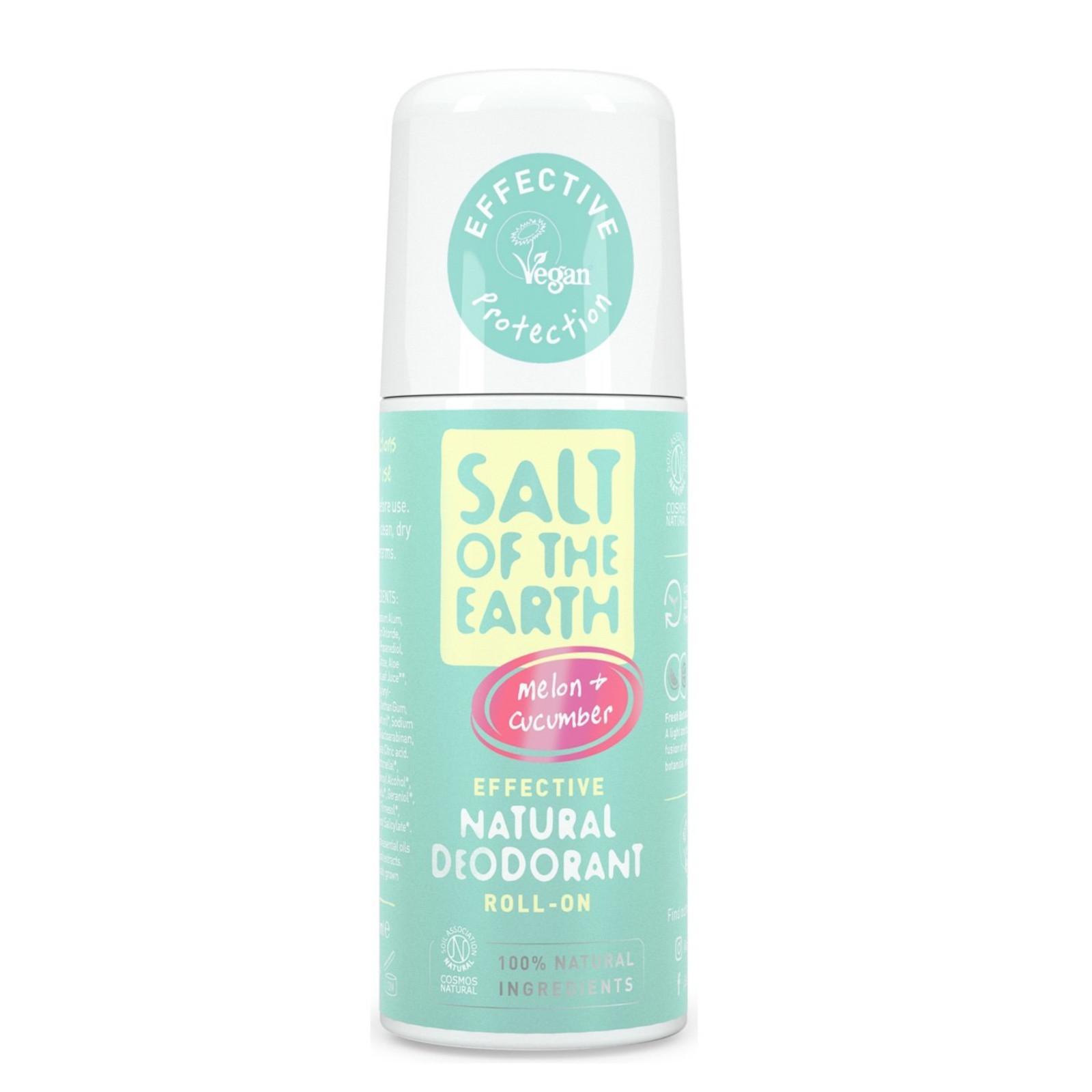 Salt of the Earth Pure Aura Přírodní deodorant roll-on meloun a okurka 75 ml