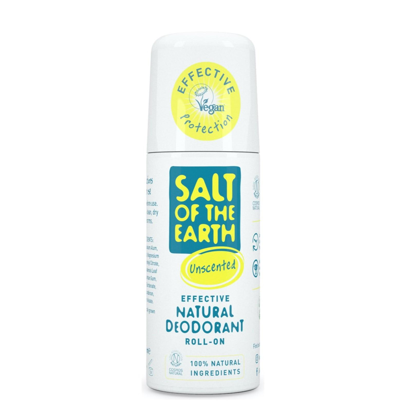 Salt of the Earth Přírodní deodorant roll-on bez vůně 75 ml