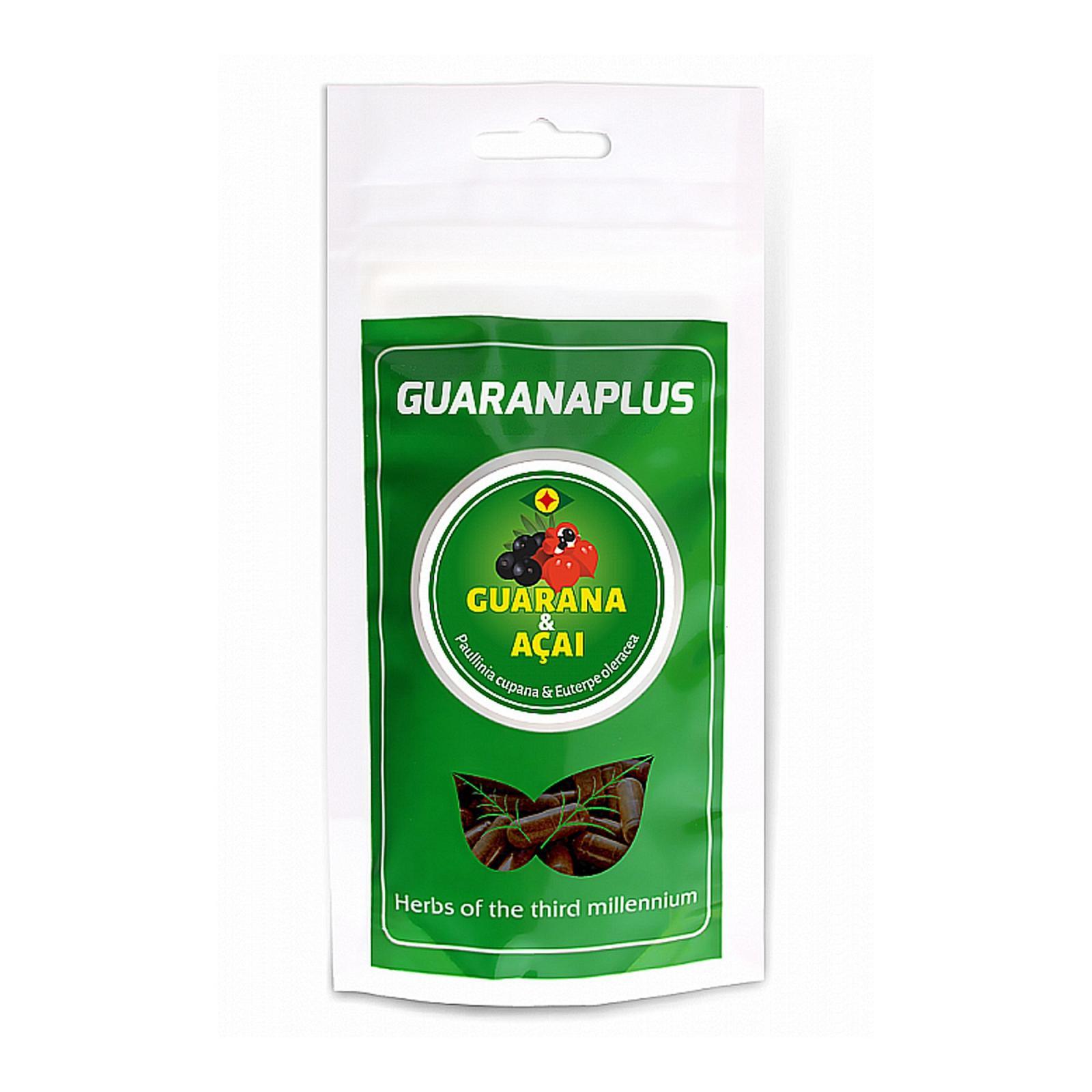 Guaranaplus Guarana + Acai, kapsle 100 ks