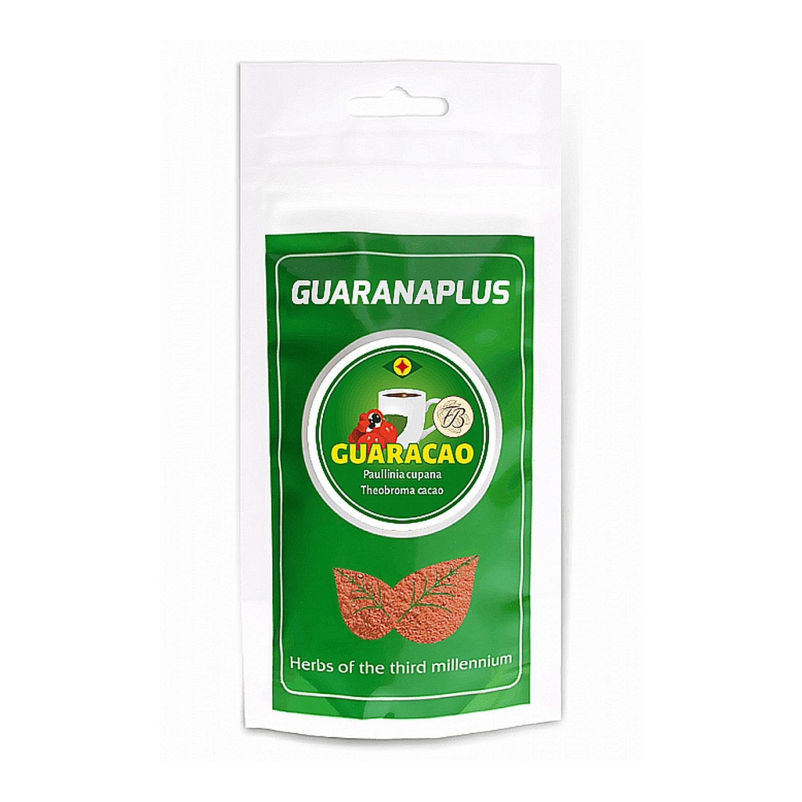 Guaranaplus Guaracao, kakaový nápoj s Guaranou 100 g