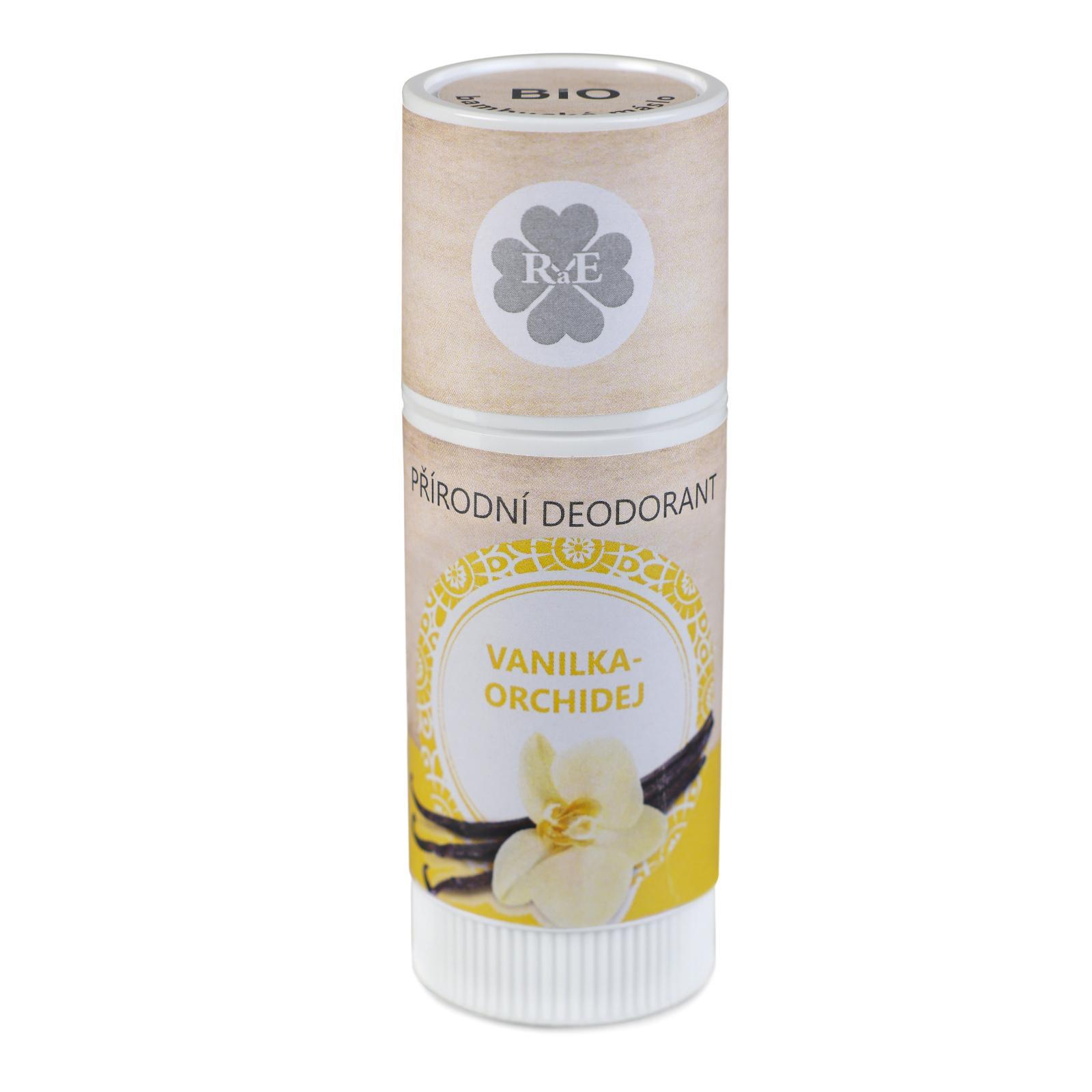 RaE Přírodní deodorant s vůní vanilky a orchideje 25 ml