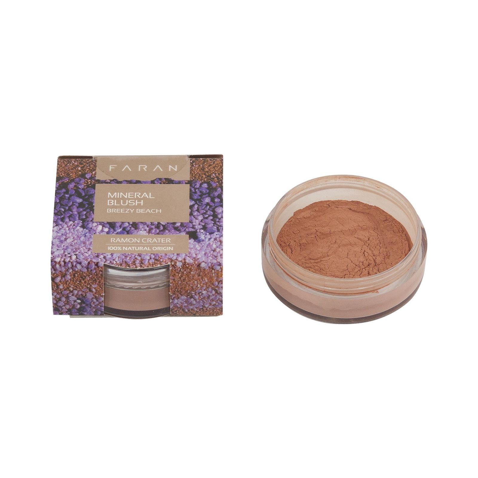 Faran Minerální tvářenka, Breezy Beach Blush 3 g, 10 ml