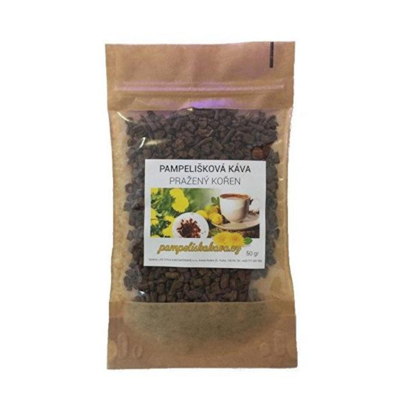 Pampeliškové kafe Pampeliškové kafe, pražený kořen 50 g