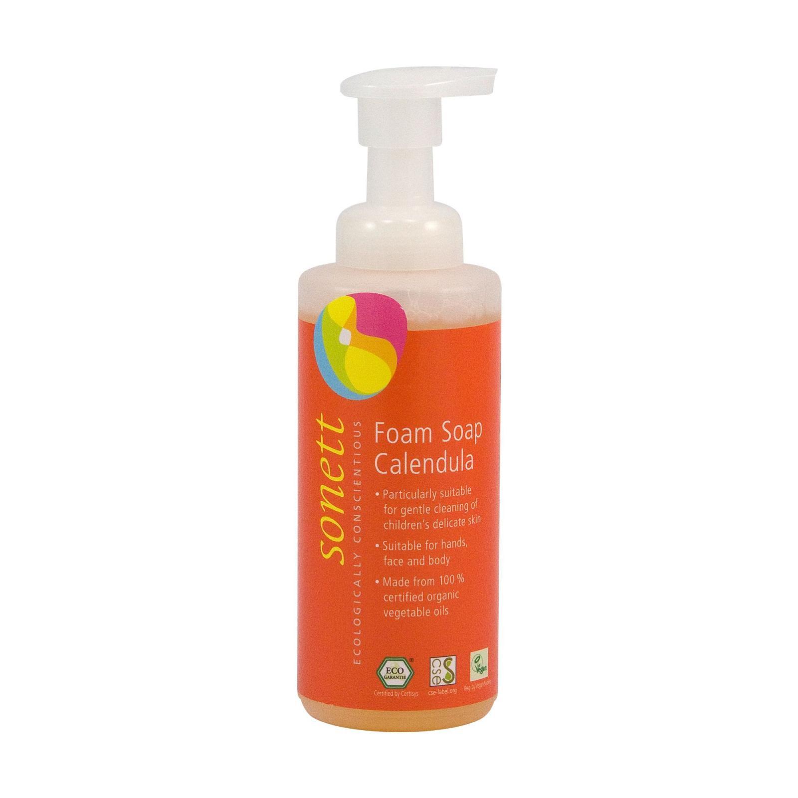 Sonett Pěnivé mýdlo pro děti s měsíčkem 200 ml