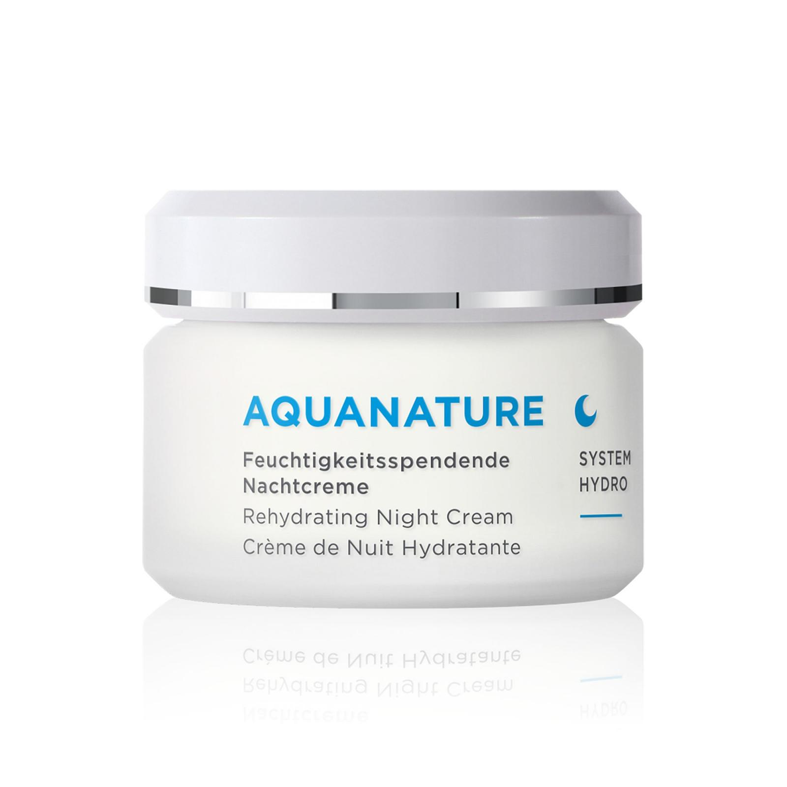 Annemarie Börlind Hydratační noční krém, Aquanature 50 ml