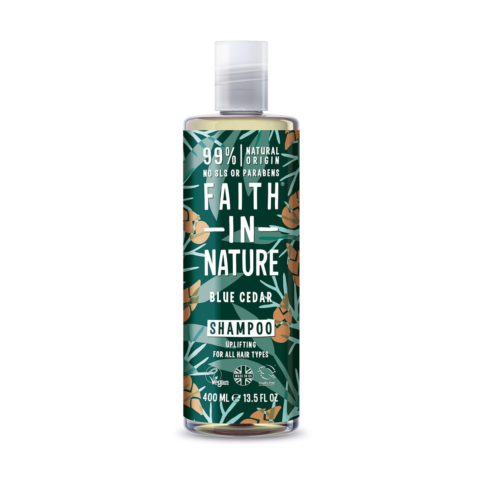 Faith in Nature Šampon modrý cedr, Faith for men 400 ml