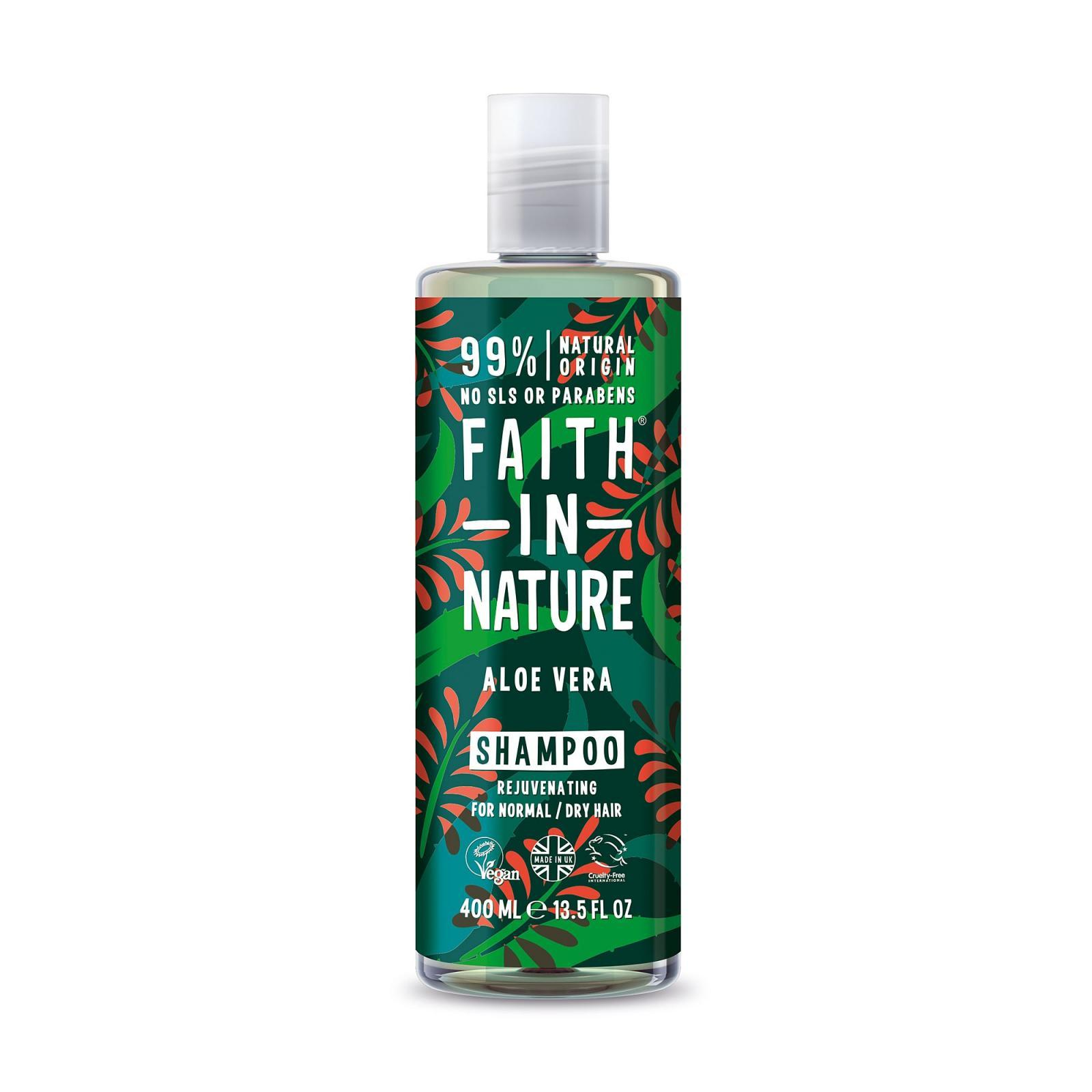Faith in Nature Šampon Aloe vera 400 ml
