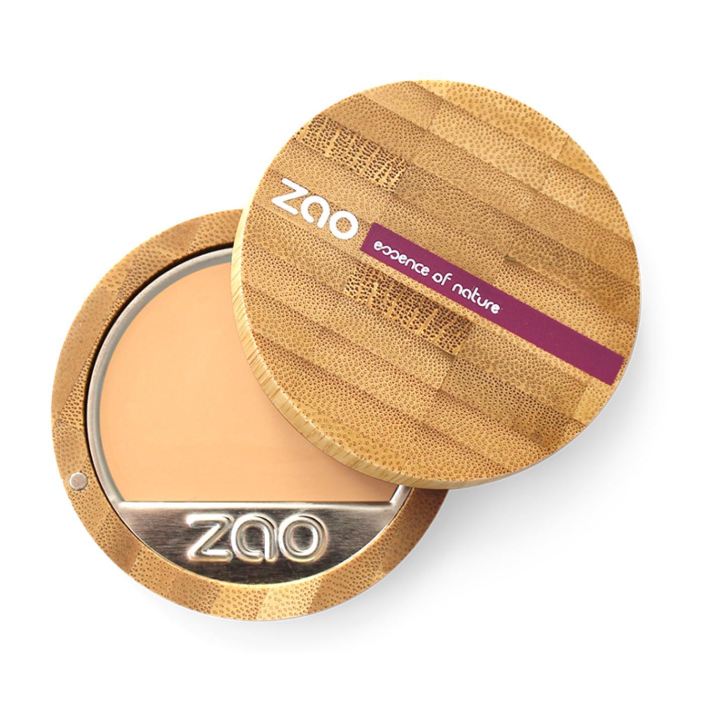 ZAO Kompaktní make-up 728 Very Light Ochre 6 g bambusový obal