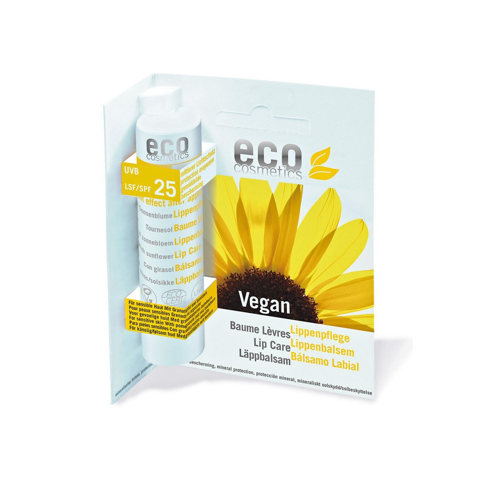Eco Cosmetics Ochranný balzám na rty SPF 25 4 g