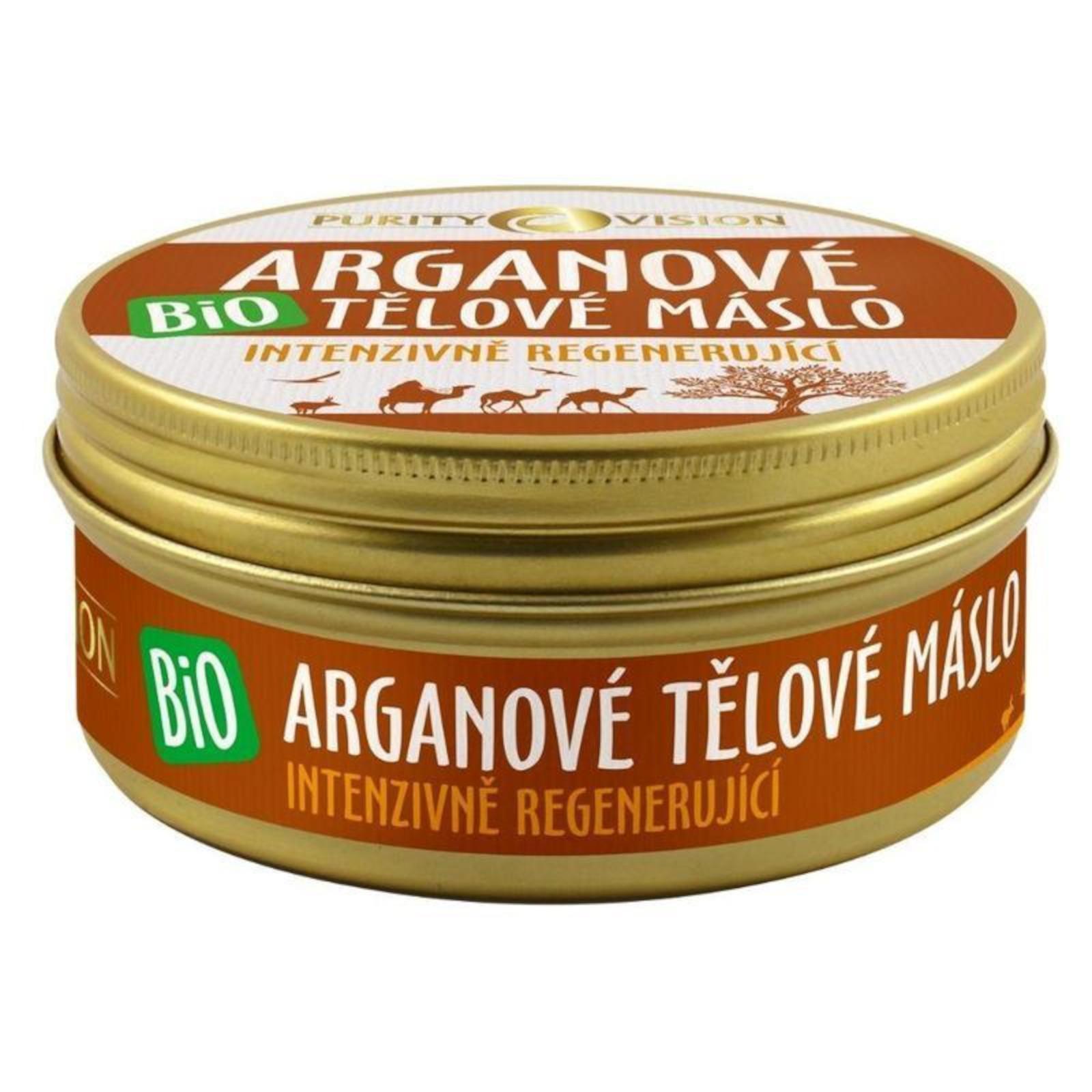 Purity Vision Tělové máslo s bio arganovým olejem 150 ml