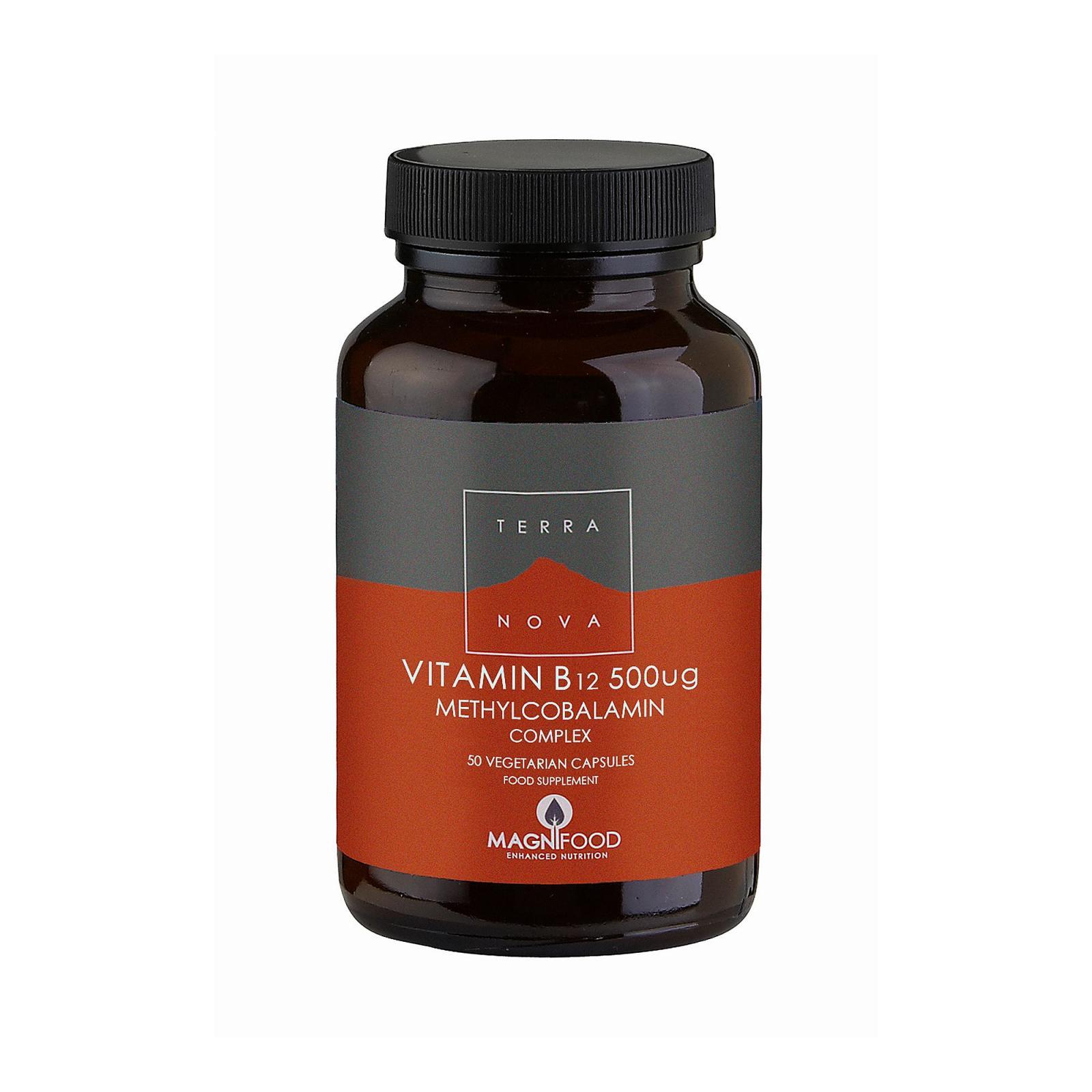 Terranova Health Vitamin B12, Komplex 50 ks, (kapslí)