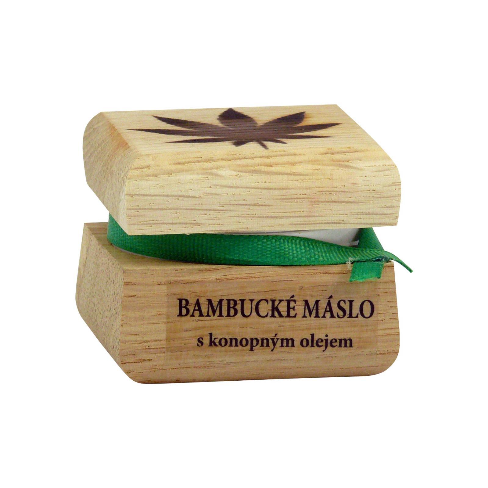 RaE Bambucké tělové máslo s konopným olejem 50 ml