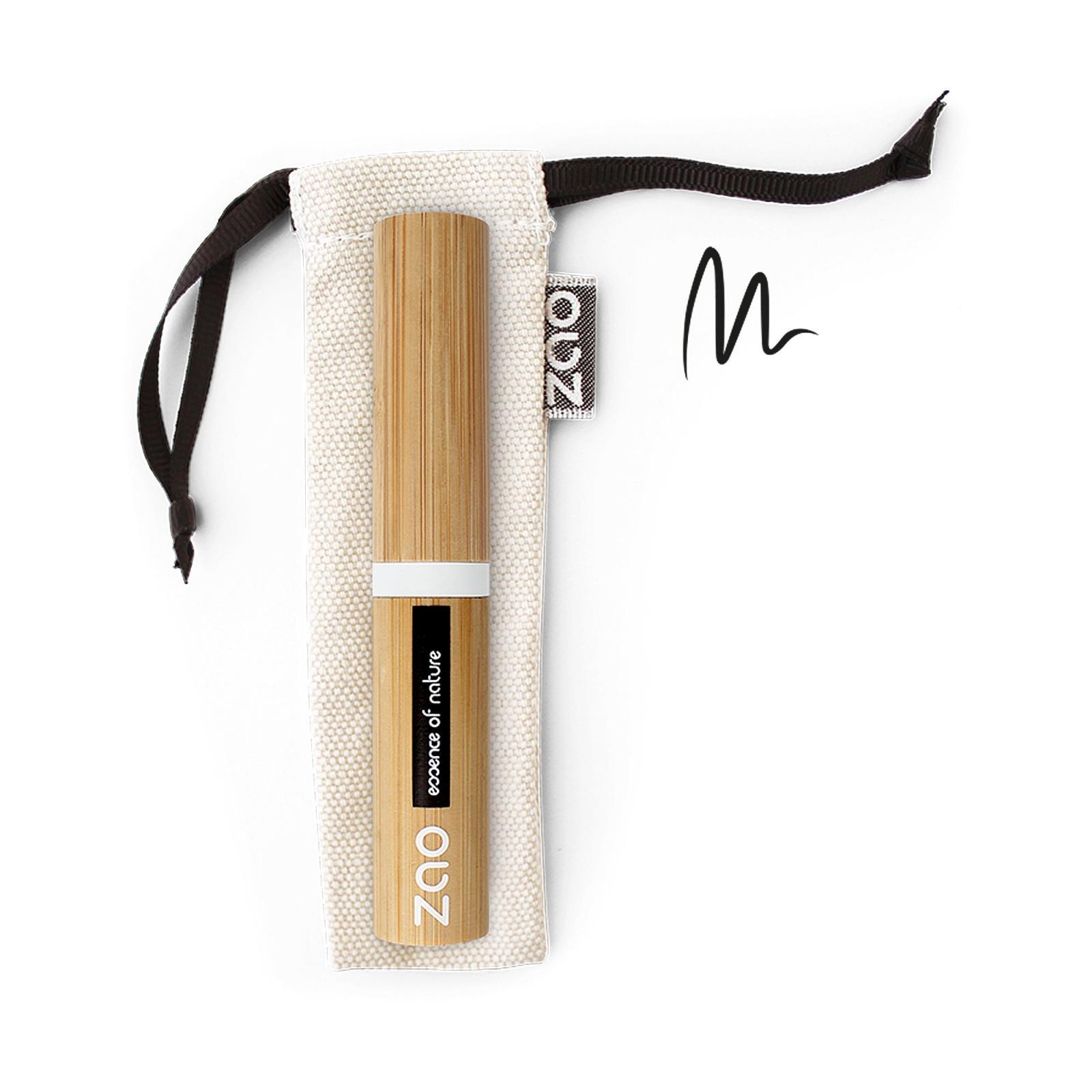 ZAO Tekuté oční linky 070 Black 4,5 g bambusový obal