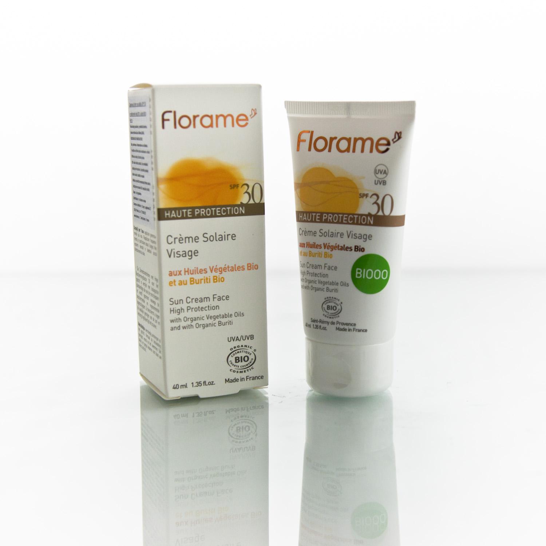 Florame Opalovací krém na obličej SPF 30 40 ml
