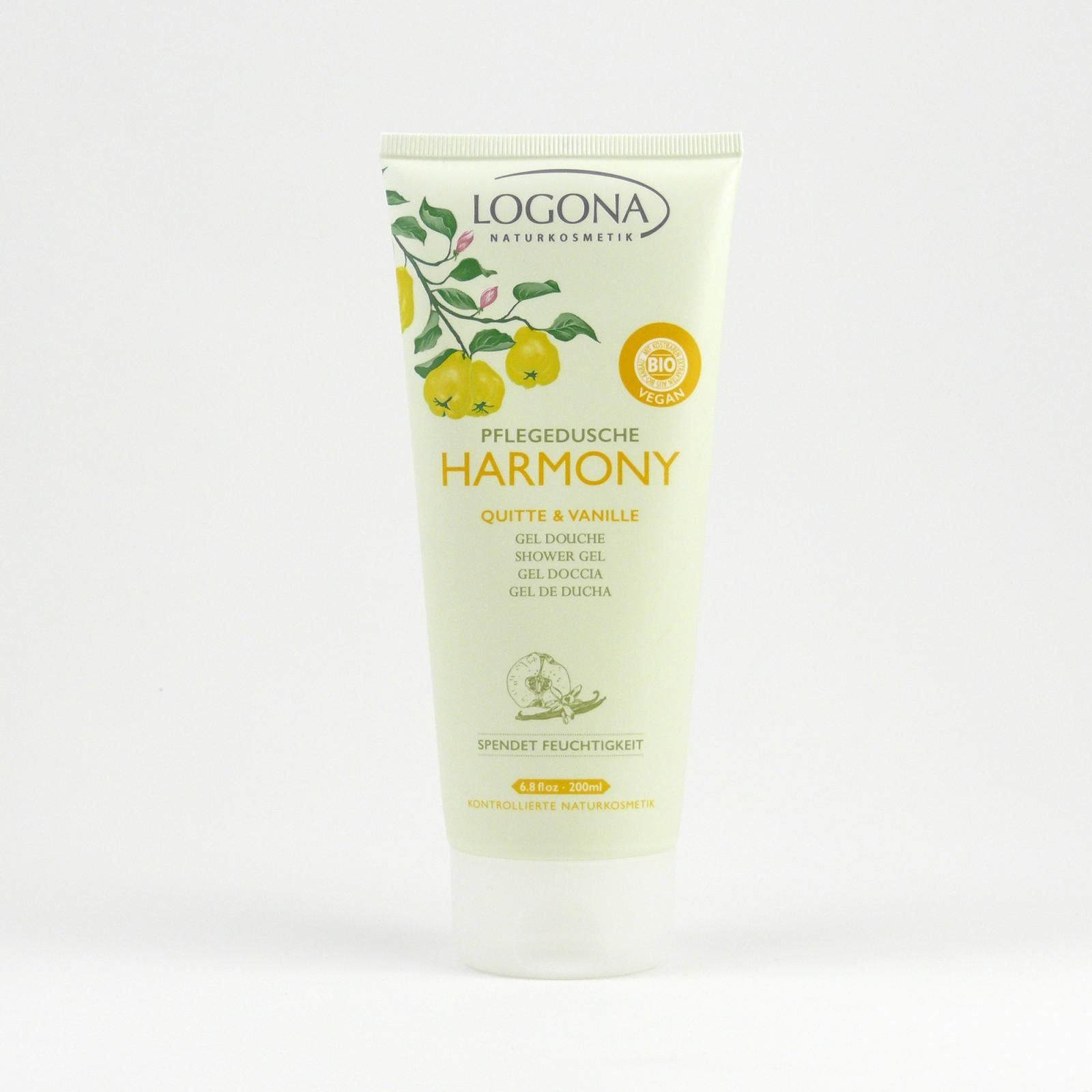 Logona Sprchový gel kdoule a vanilka, Harmony 200 ml