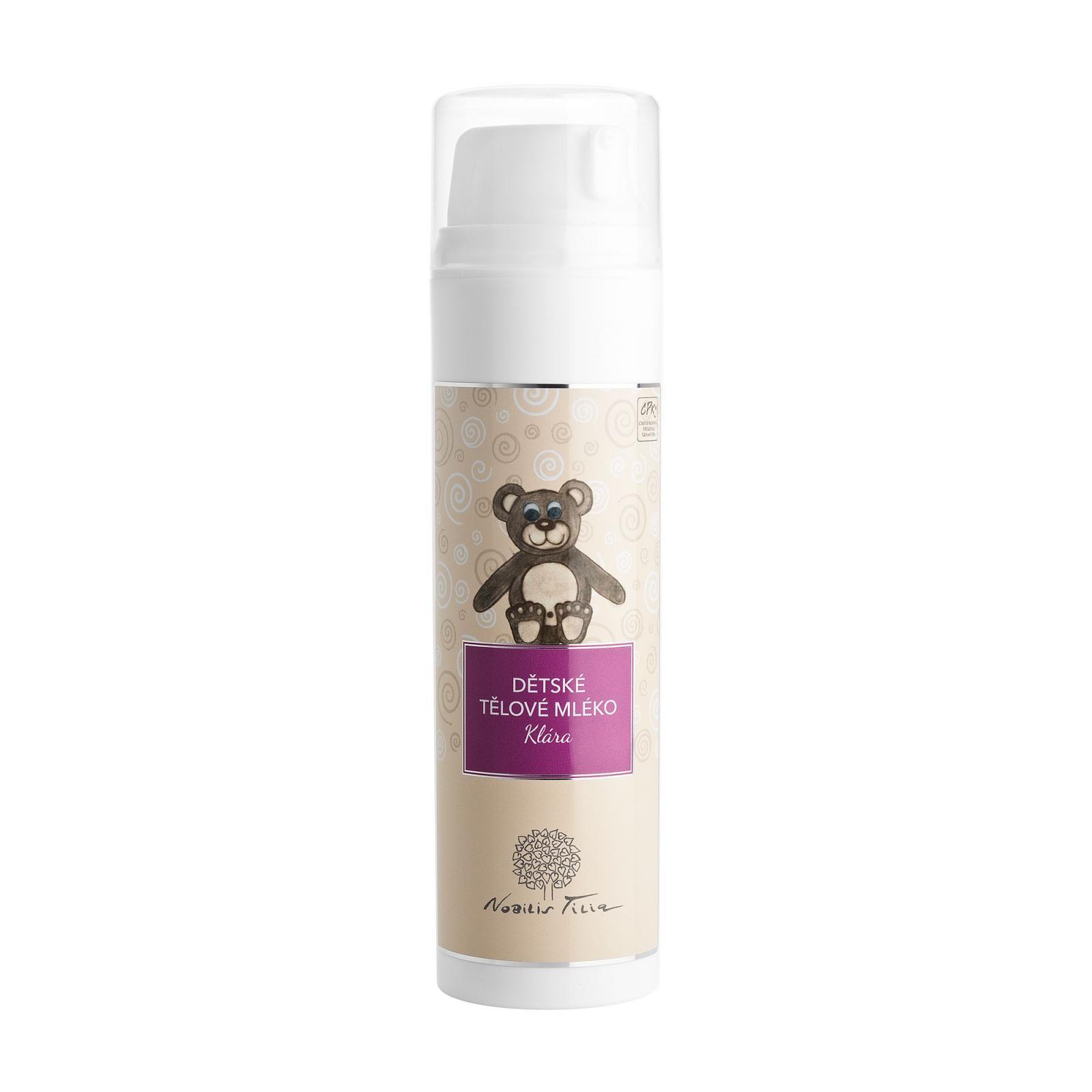 Nobilis Tilia Dětské tělové mléko Klára 200 ml