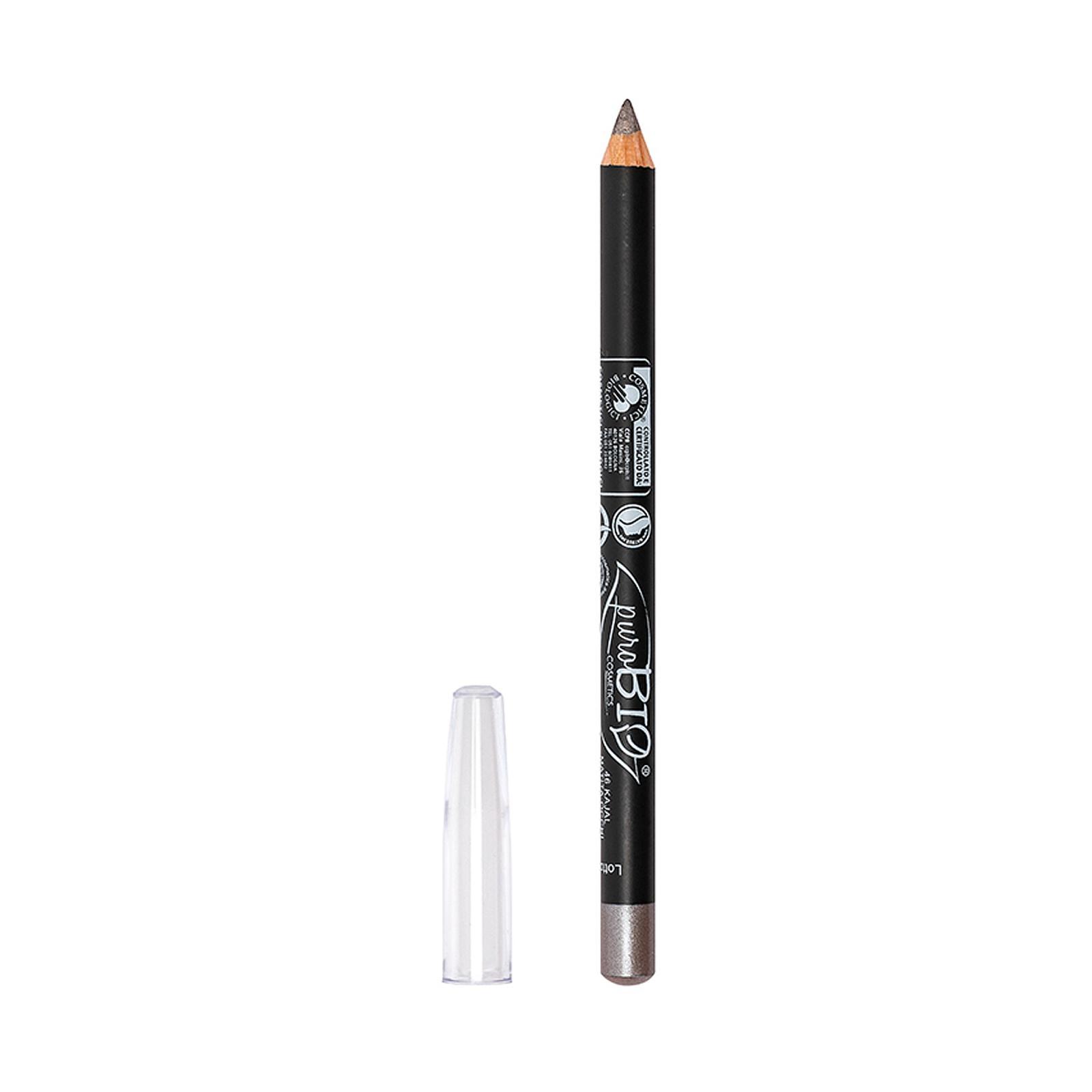 puroBIO cosmetics Tužka na oči 46 Metal Dove-Gray 1,3 g