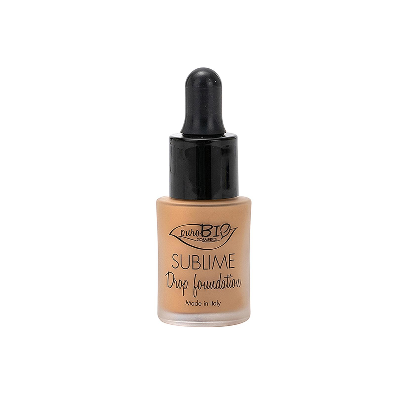 puroBIO cosmetics Tekutý make-up 04 s SPF 10 19 g