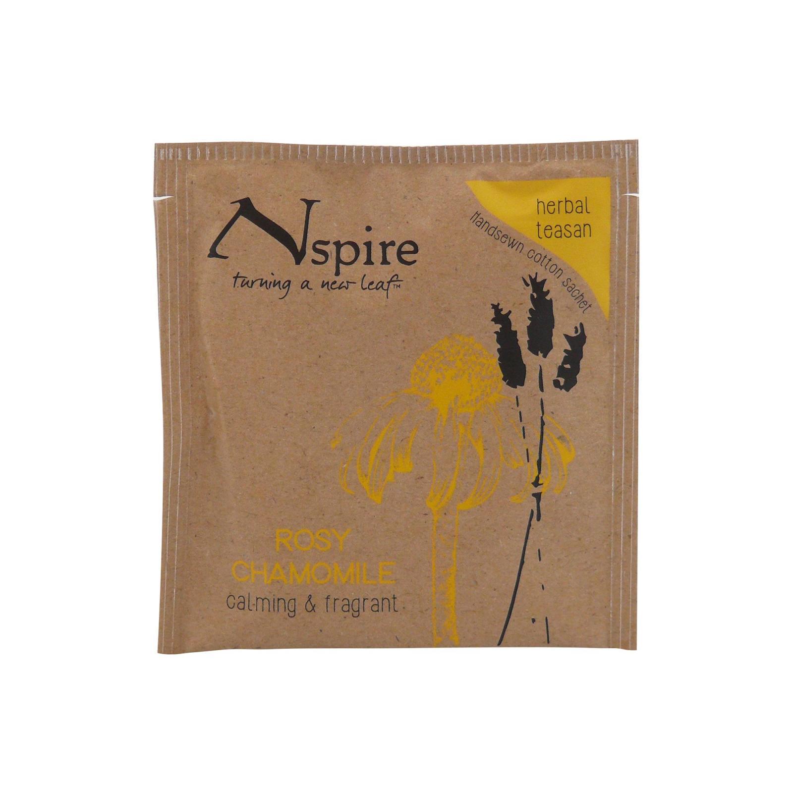 Numi Organic Tea Bylinný čaj Rosy Chamomile, Nspire Tea 3,3 g, 1 ks