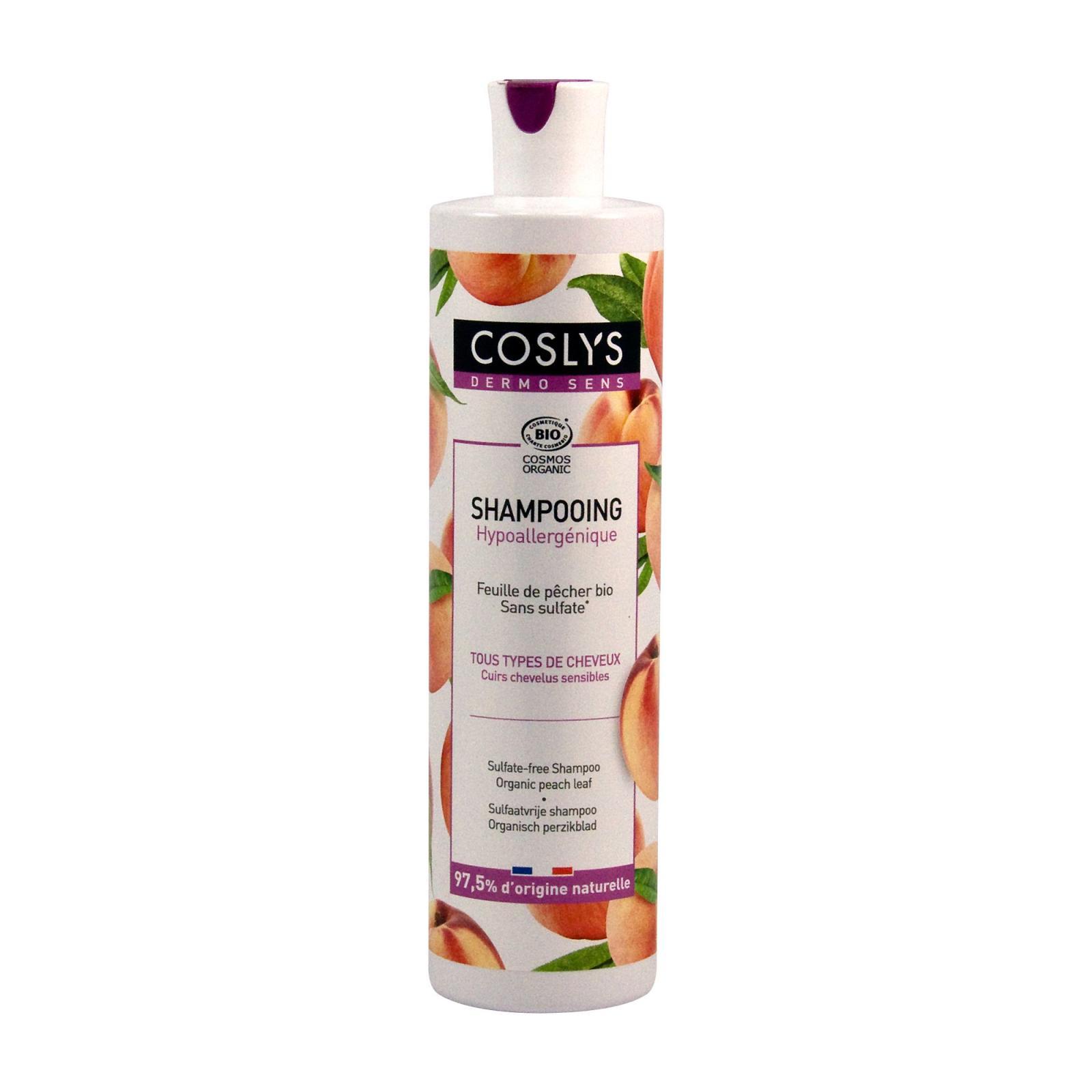 Coslys Šampon bez sulfátů broskev 380 ml