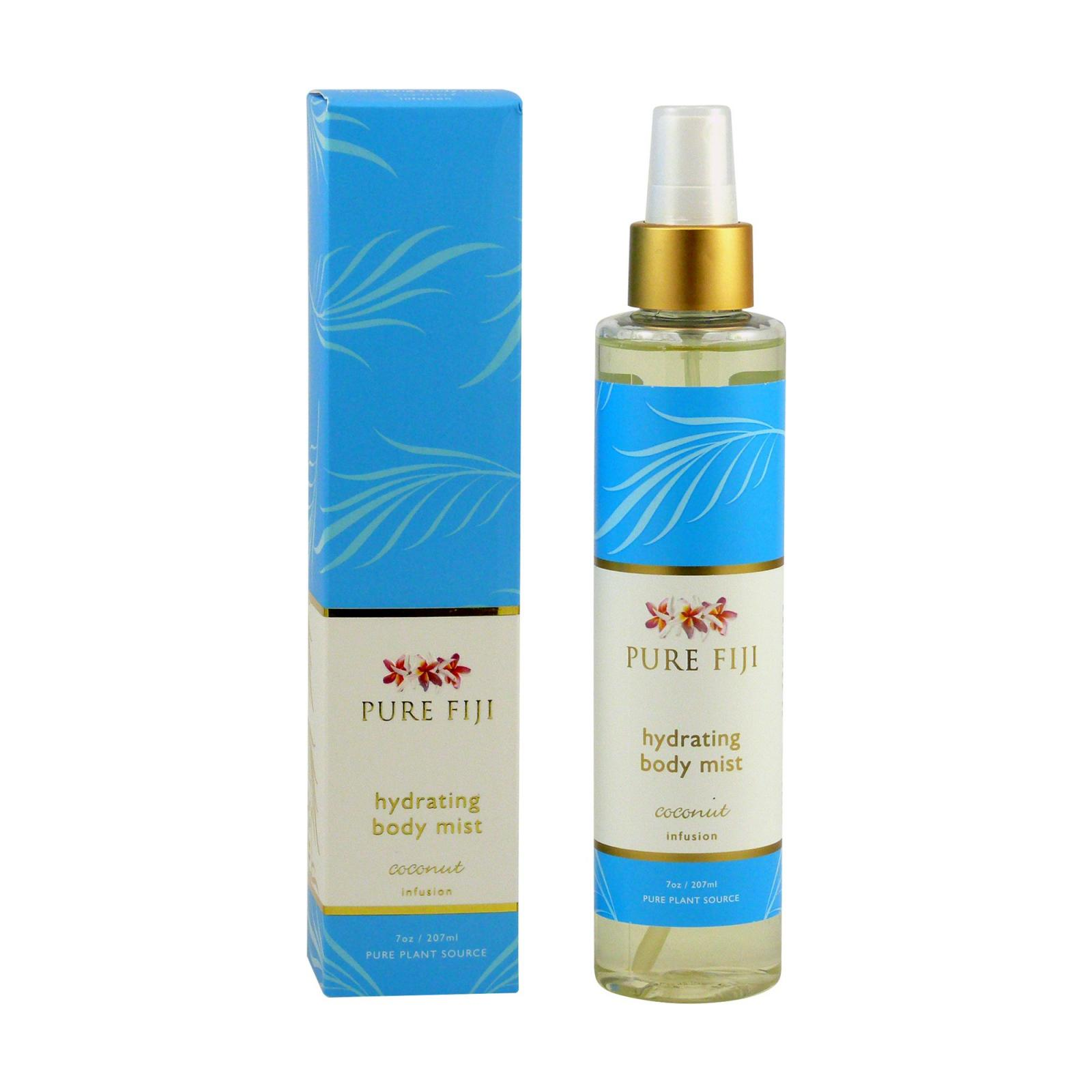 Pure Fiji Hydratační tělový sprej, kokos 207 ml