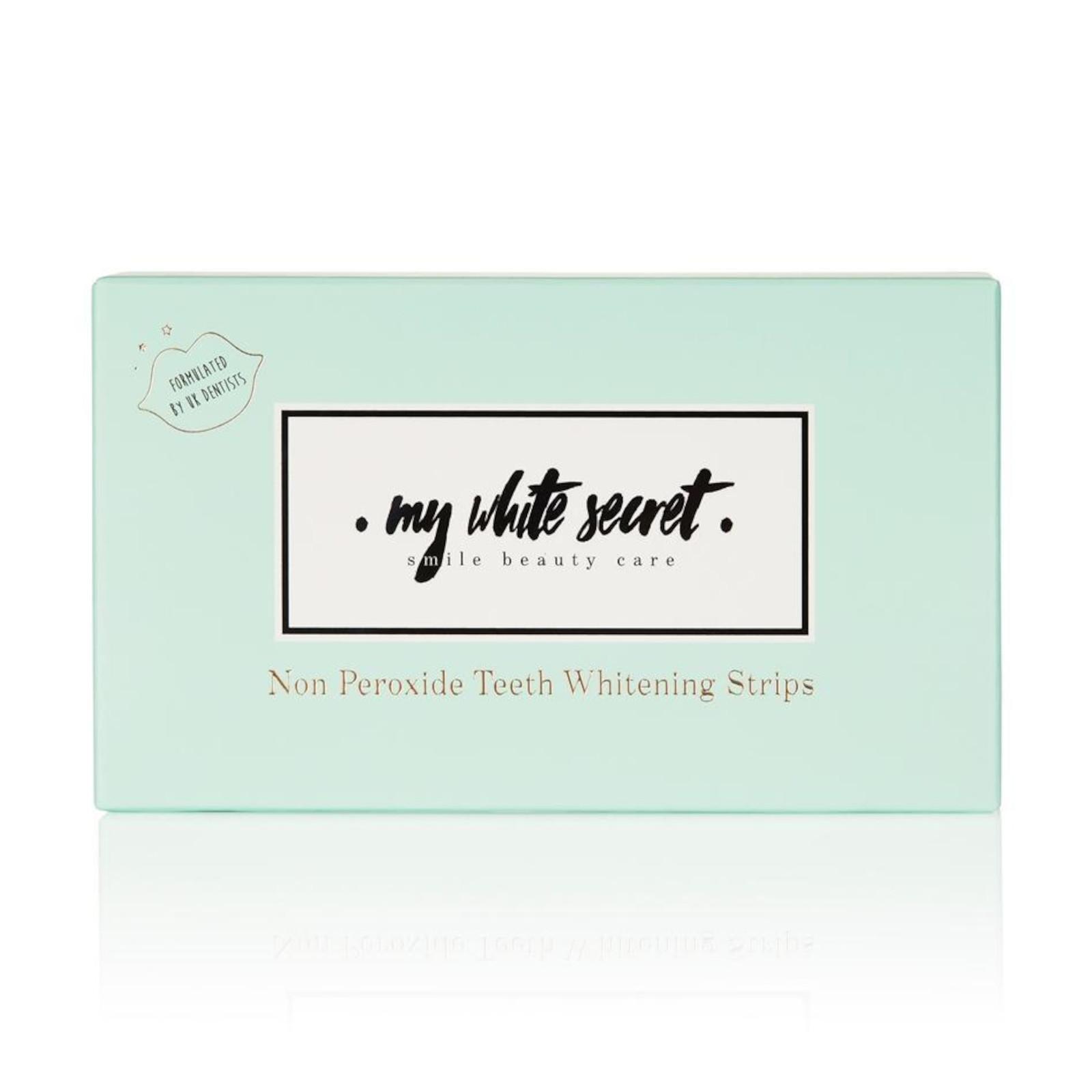 My White Secret Bělící pásky na zuby