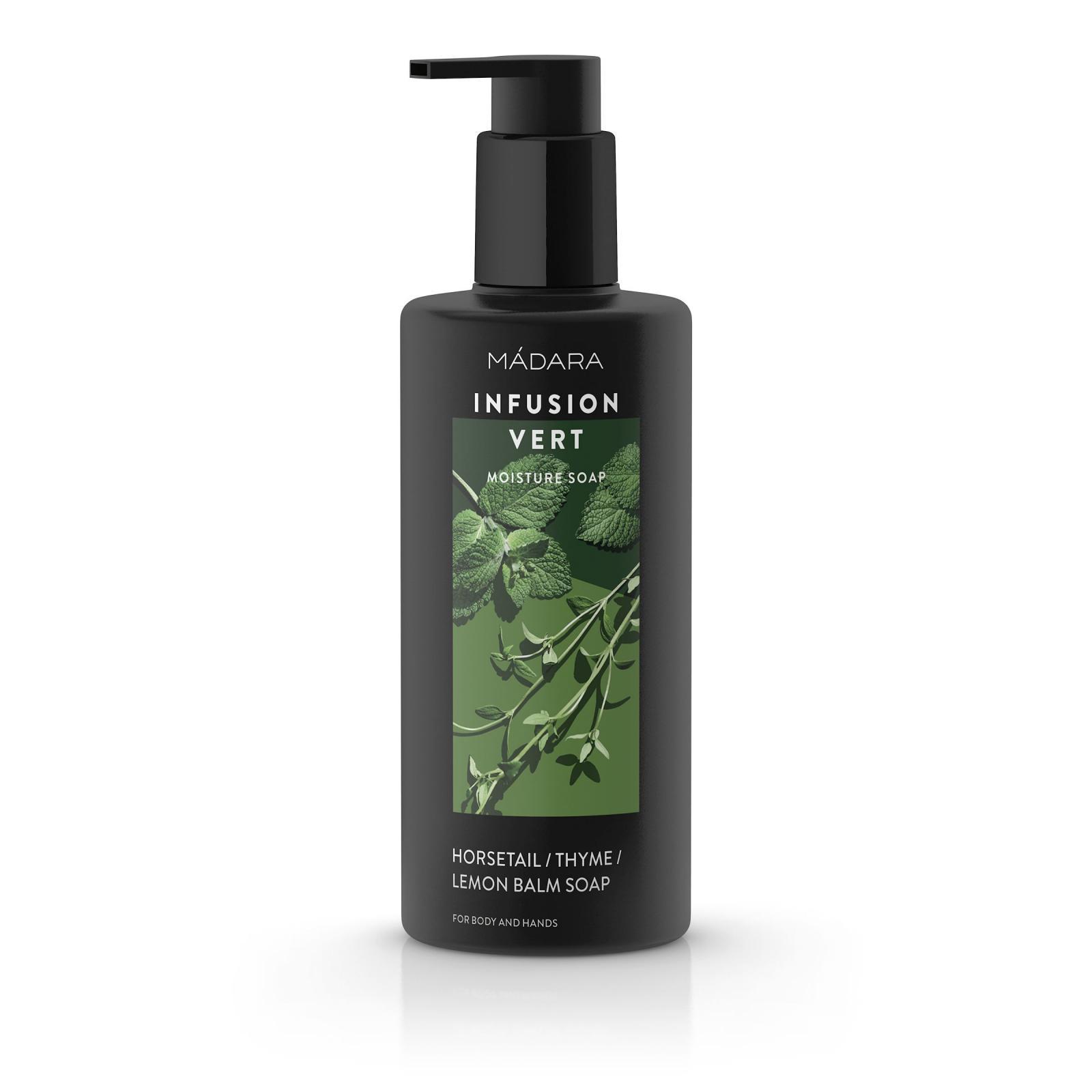 MÁDARA Tekuté mýdlo na tělo vyživující, Infusion Vert 300 ml