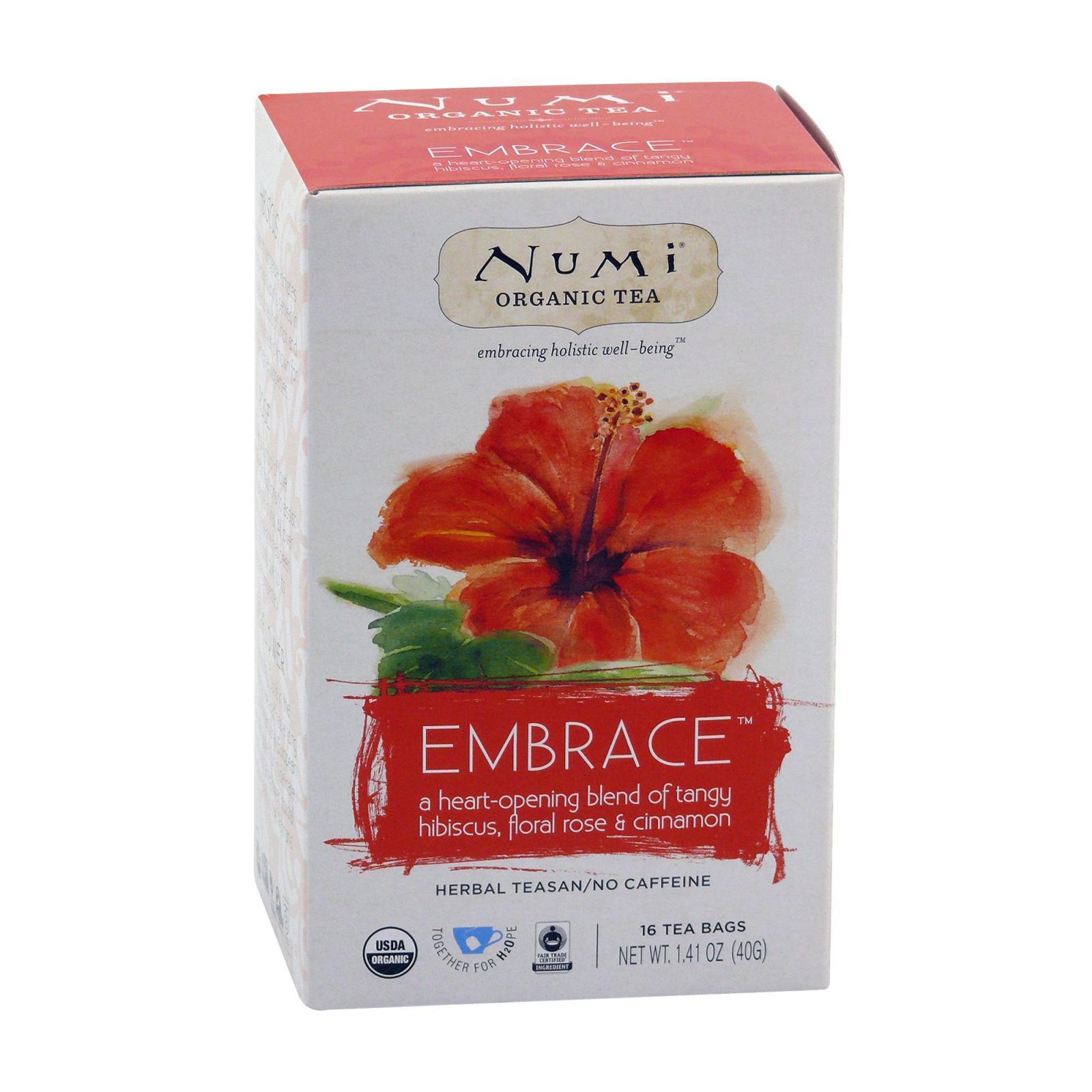 Numi Organic Tea Bylinný čaj Embrace 40 g, 16 ks