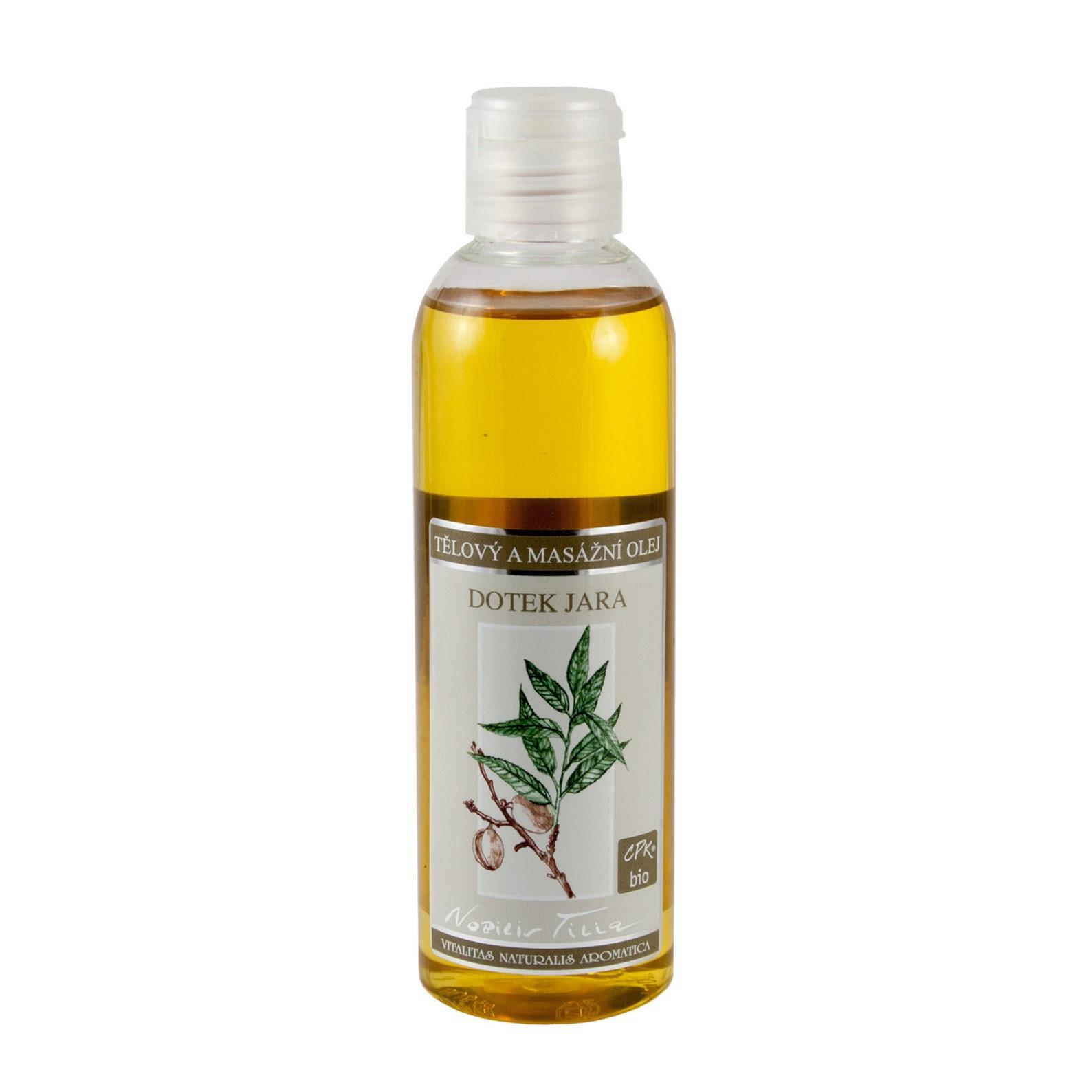 Nobilis Tilia Tělový a masážní olej Dotek jara 200 ml
