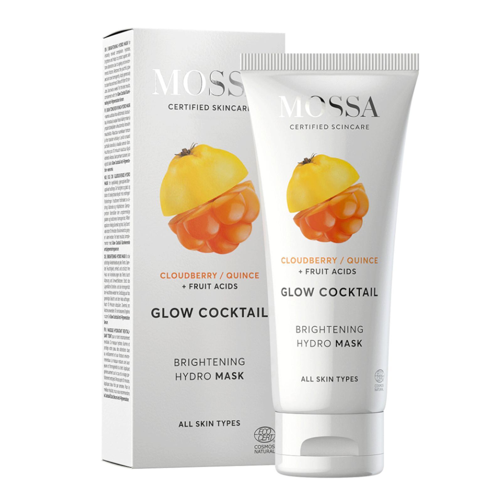 MOSSA Rozjasňující maska s moruškou, Glow Coctail 60 ml