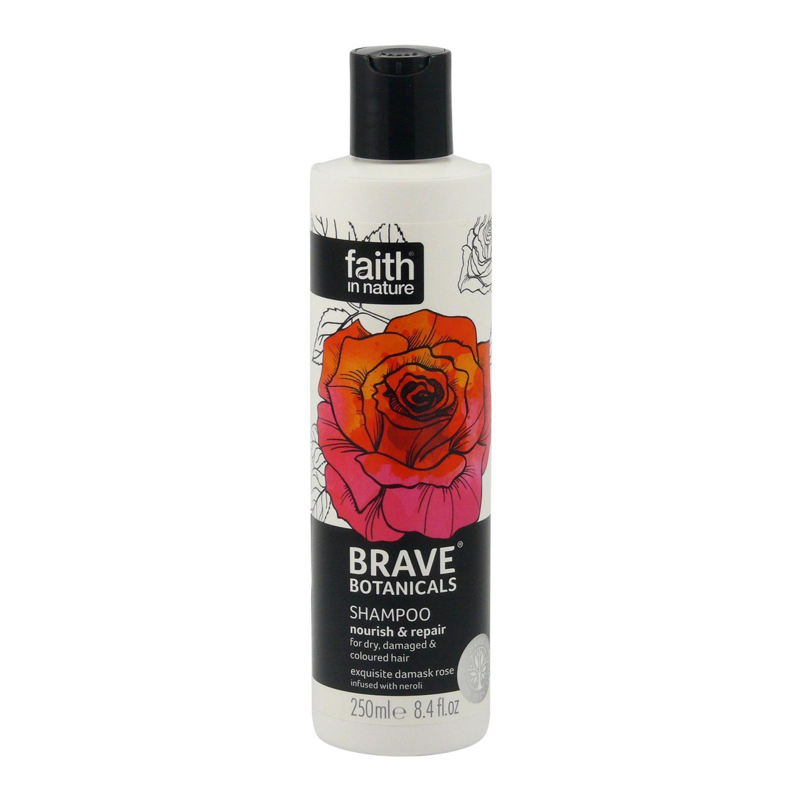 Faith in Nature Šampon růže & neroli, Brave 250 ml