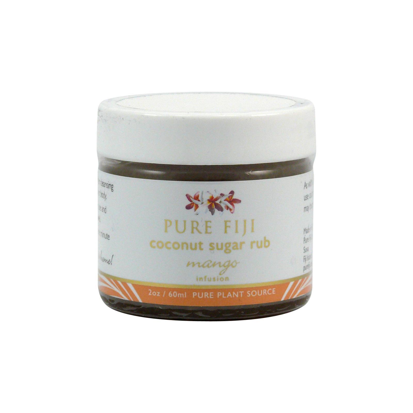 Pure Fiji Kokosový peeling s třtinovým cukrem, mango 59 ml