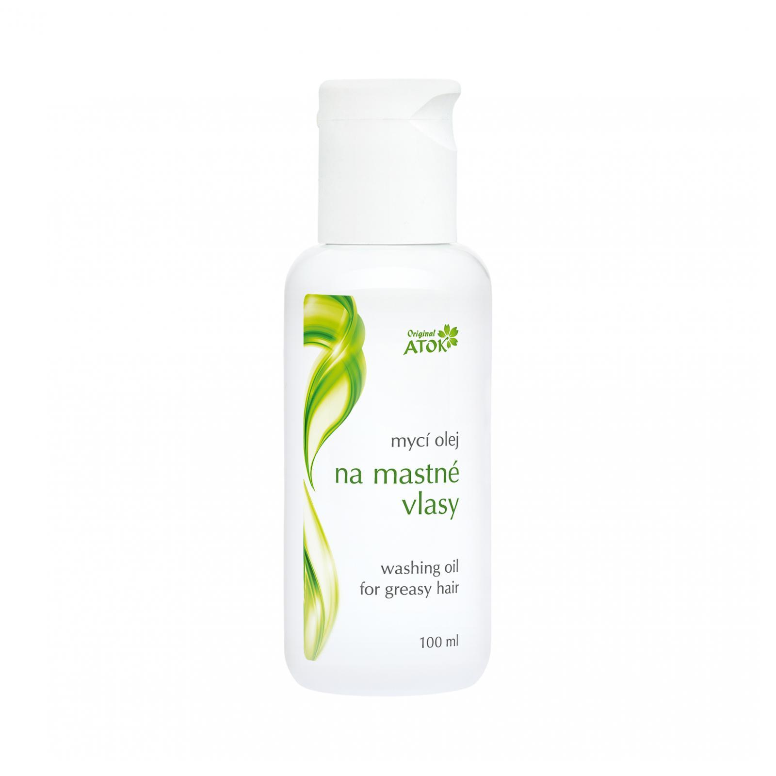 Original ATOK Mycí olej na mastné vlasy 100 ml