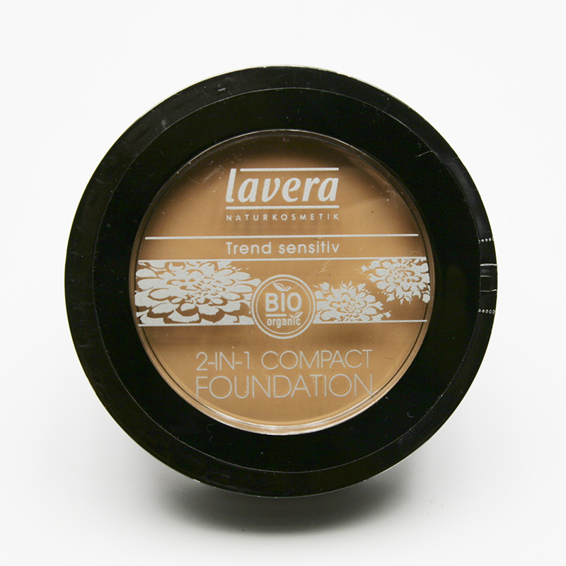 Lavera Make-up pudrový 2v1 02 karamel, Trend Sensitiv 10 g