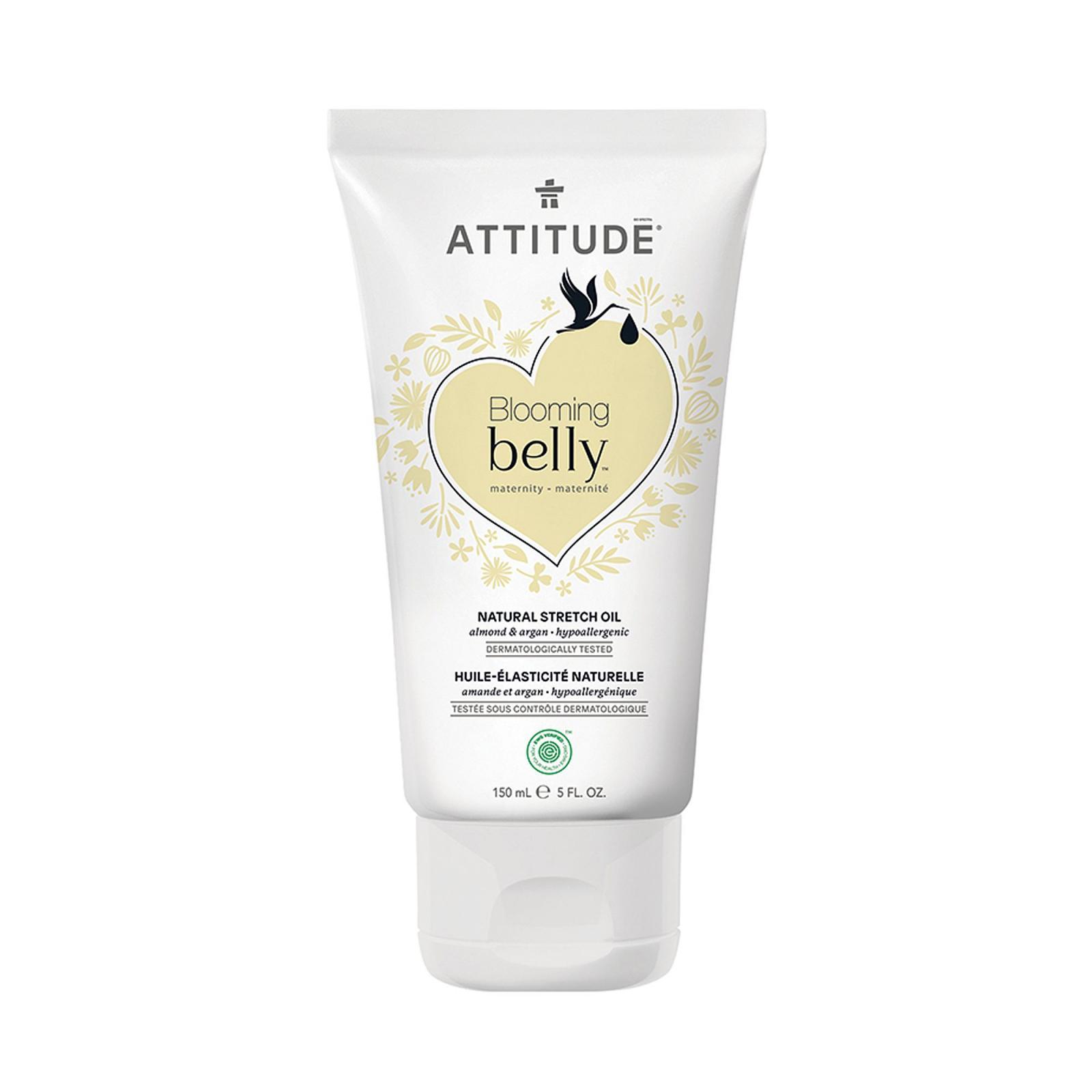 Attitude Olej pro těhotné a po porodu s arganem a mandlí, Blooming Belly 150 ml