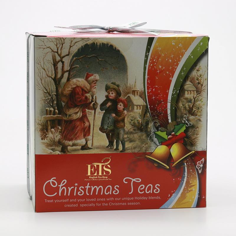 English Tea Shop Vánoční sada Viktoriánský styl I 2013 4 druhy, 96 ks