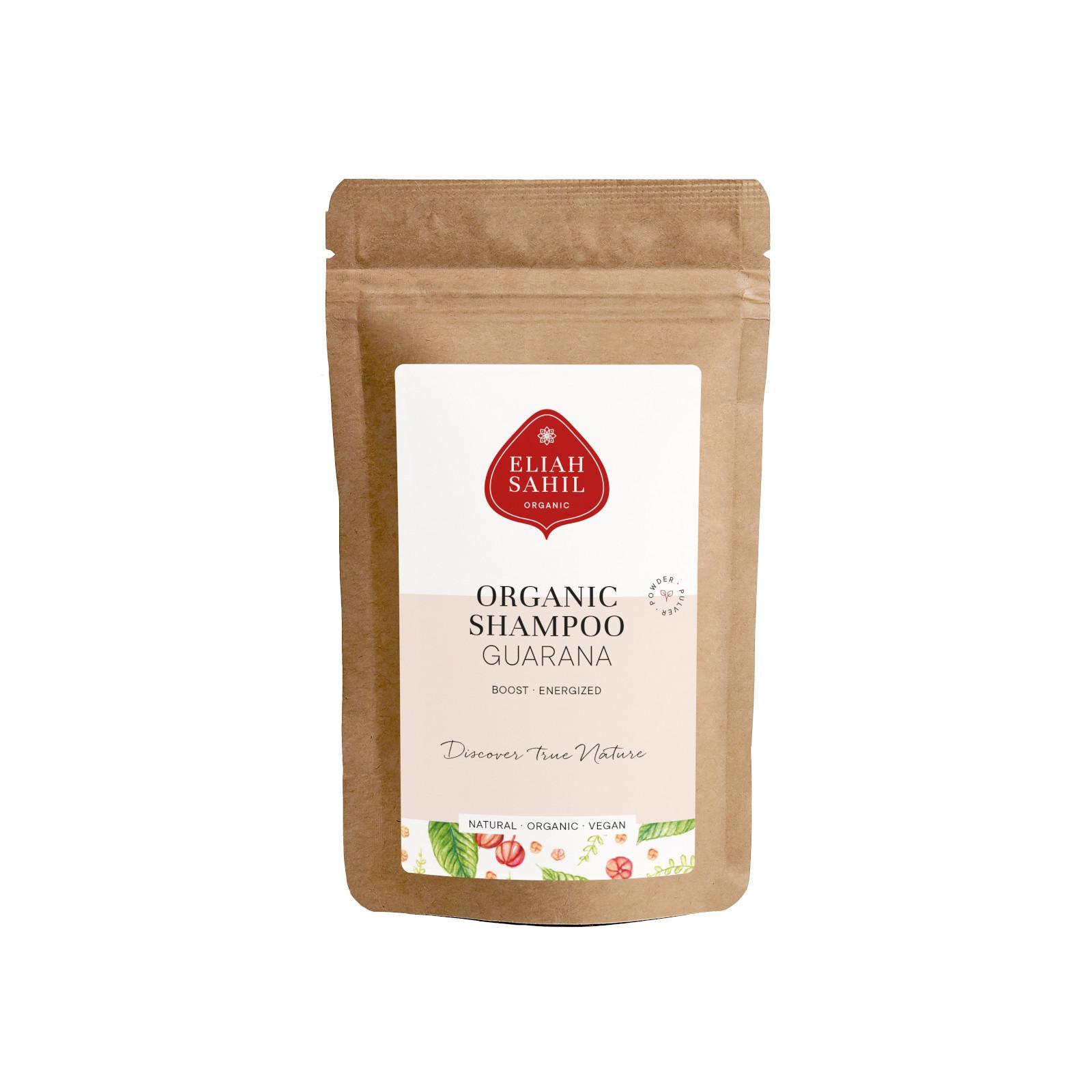 Eliah Sahil Ájurvédský práškový šampon Citrus-Guarana, Bio 10 g