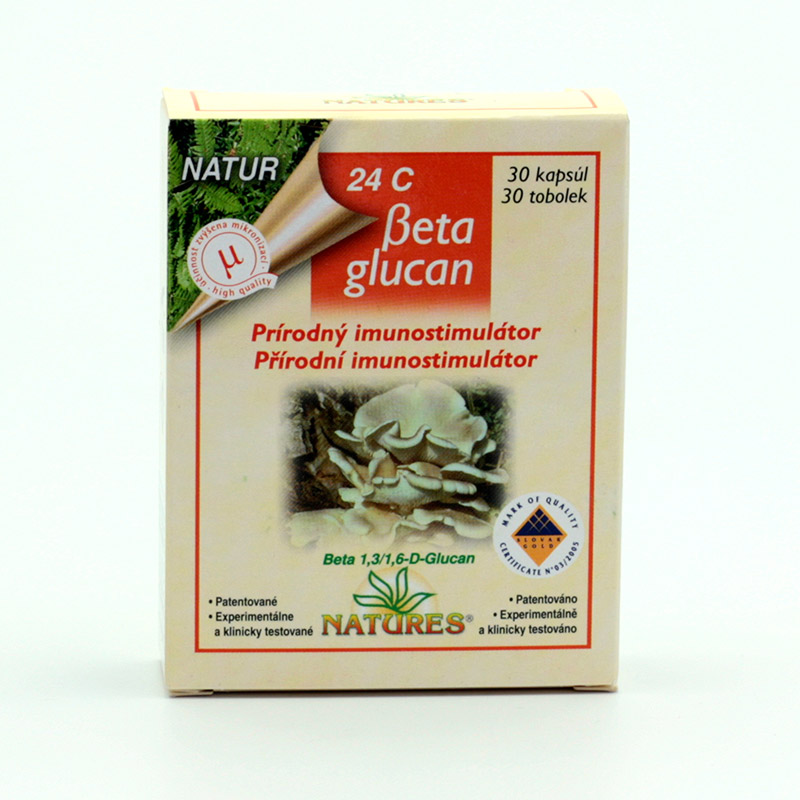 Natures x Beta Glucan 24 C 30 tablet