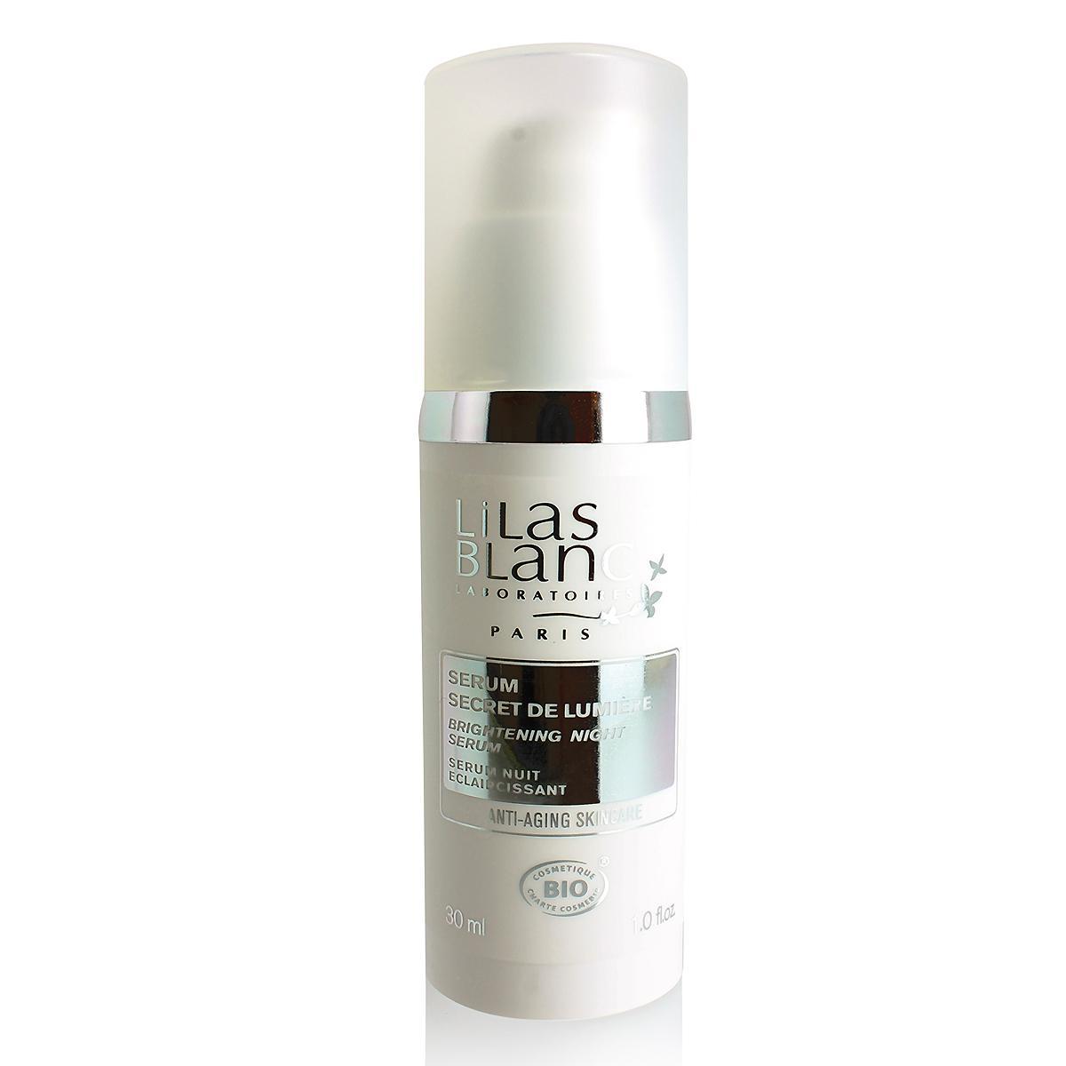 Lilas Blanc Rozjasňující noční sérum 30 ml