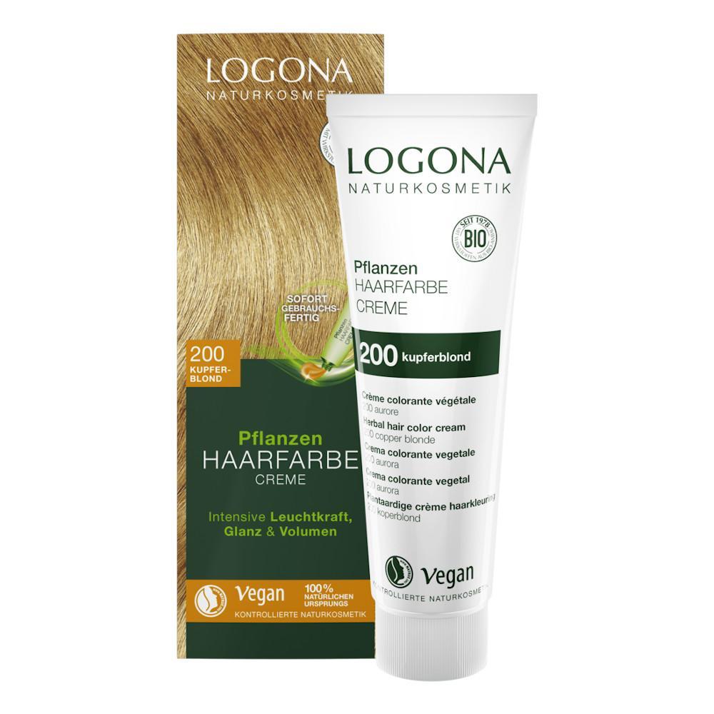 Logona Krémová barva na vlasy měděná blond, 200 150 ml